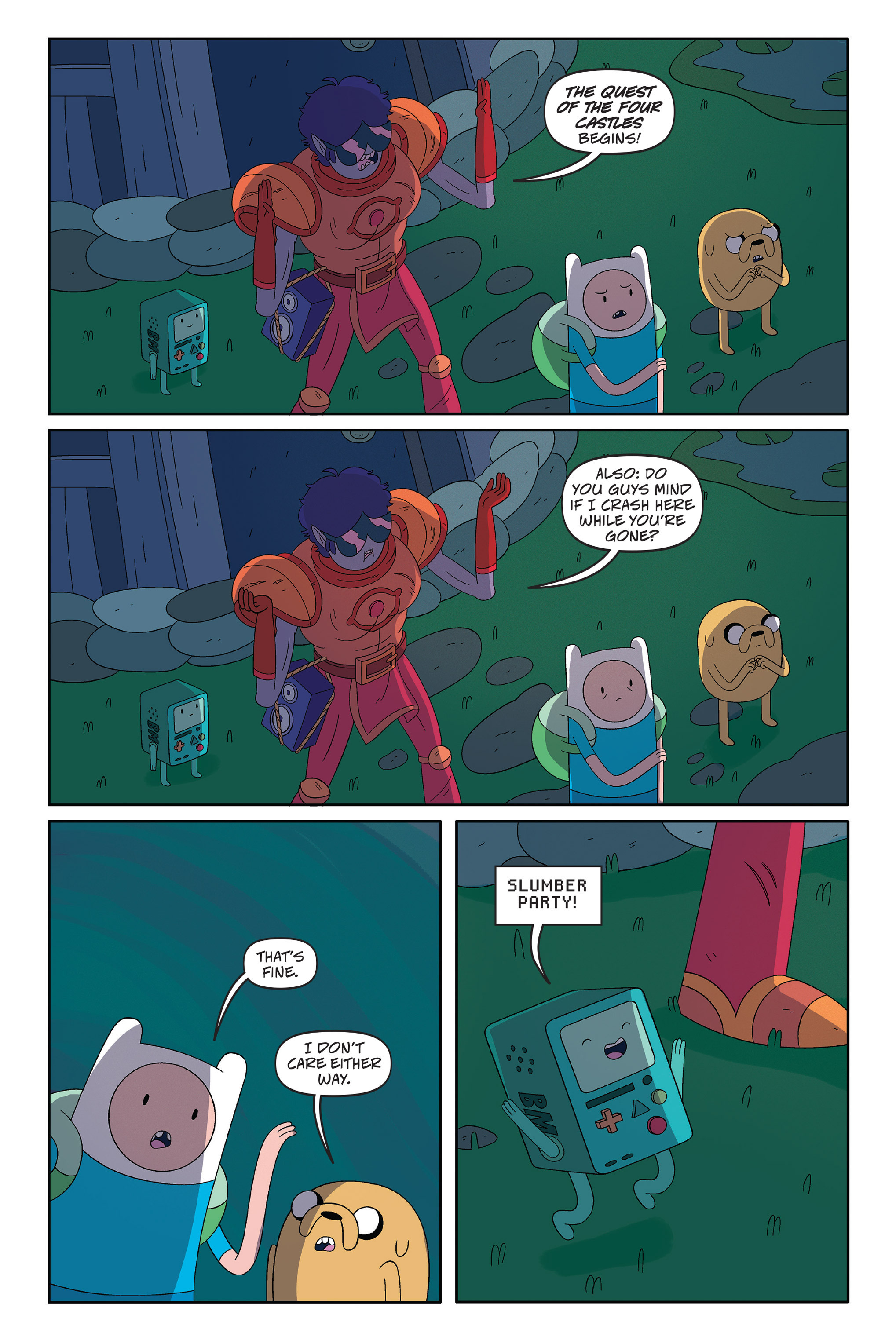 Read online Adventure Time: The Four Castles comic -  Issue #Adventure Time: The Four Castles TPB - 17