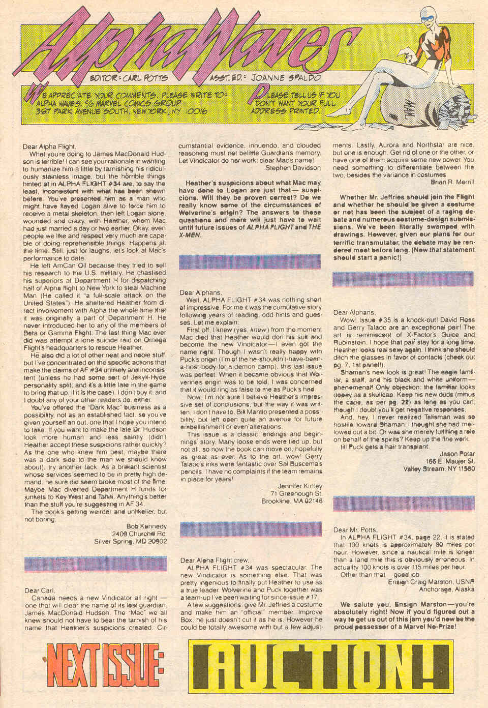 Read online Alpha Flight (1983) comic -  Issue #41 - 25