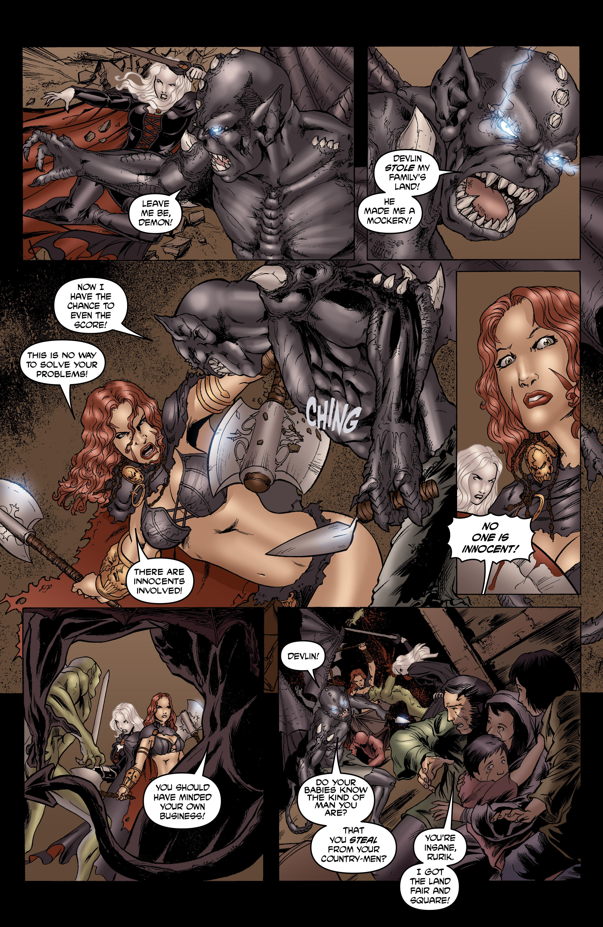 Read online Belladonna: Origins comic -  Issue #7 - 30