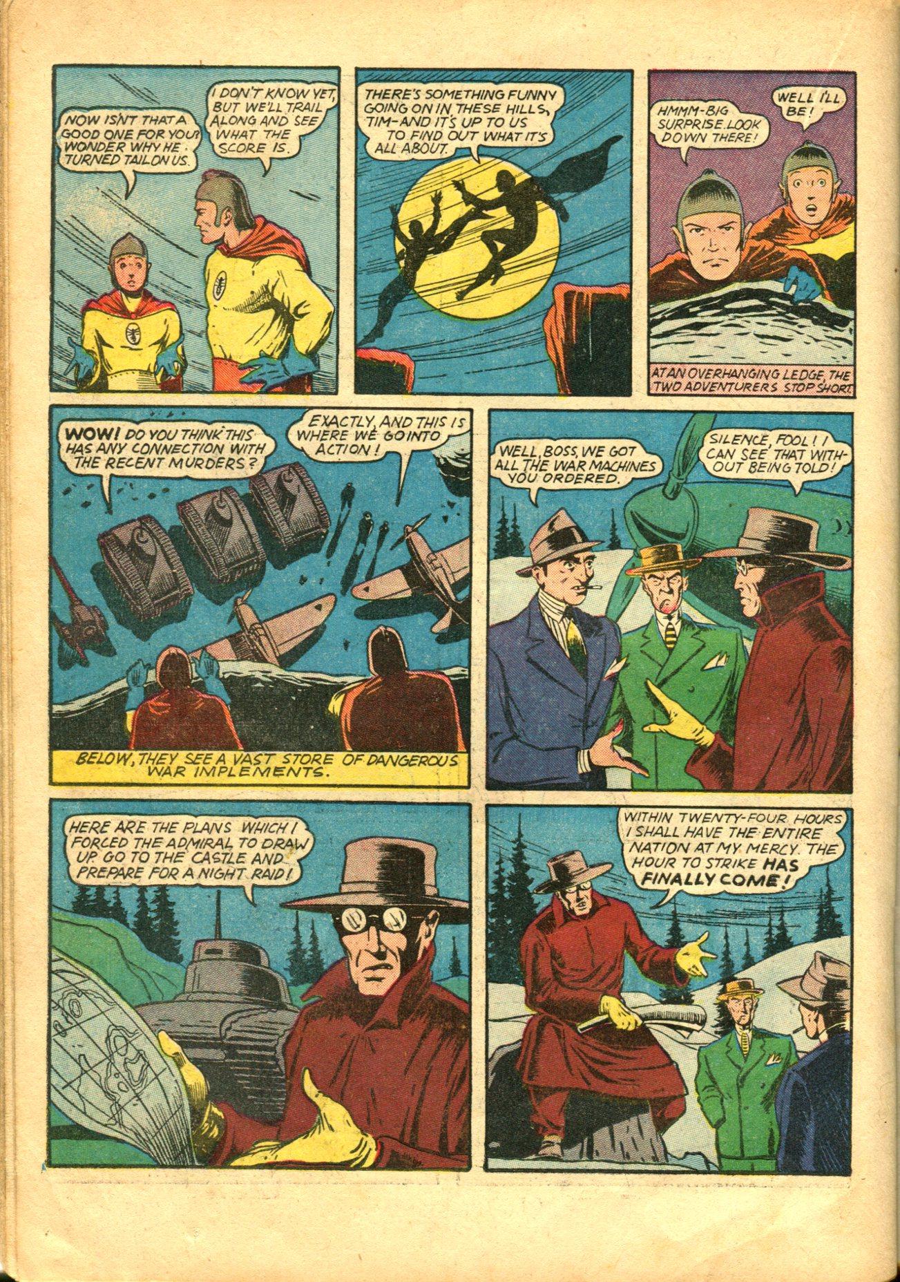 Read online Shadow Comics comic -  Issue #10 - 42