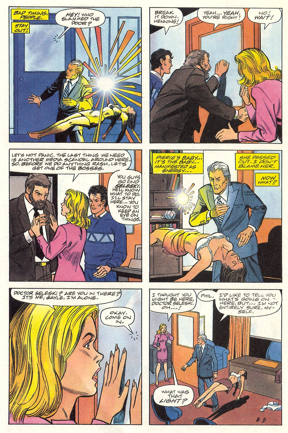 Read online Solar, Man of the Atom comic -  Issue #9 - 10