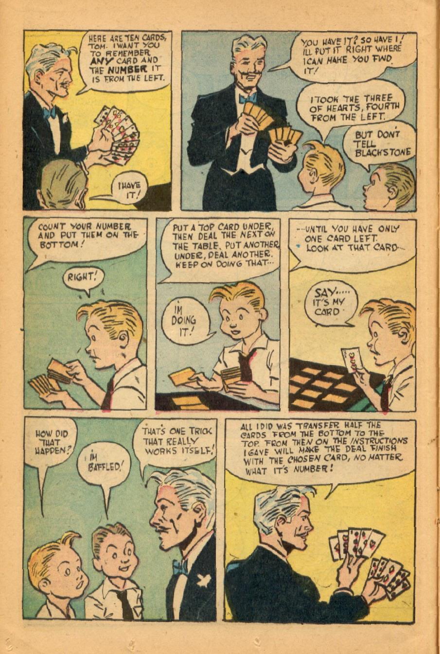 Read online Super-Magician Comics comic -  Issue #45 - 20