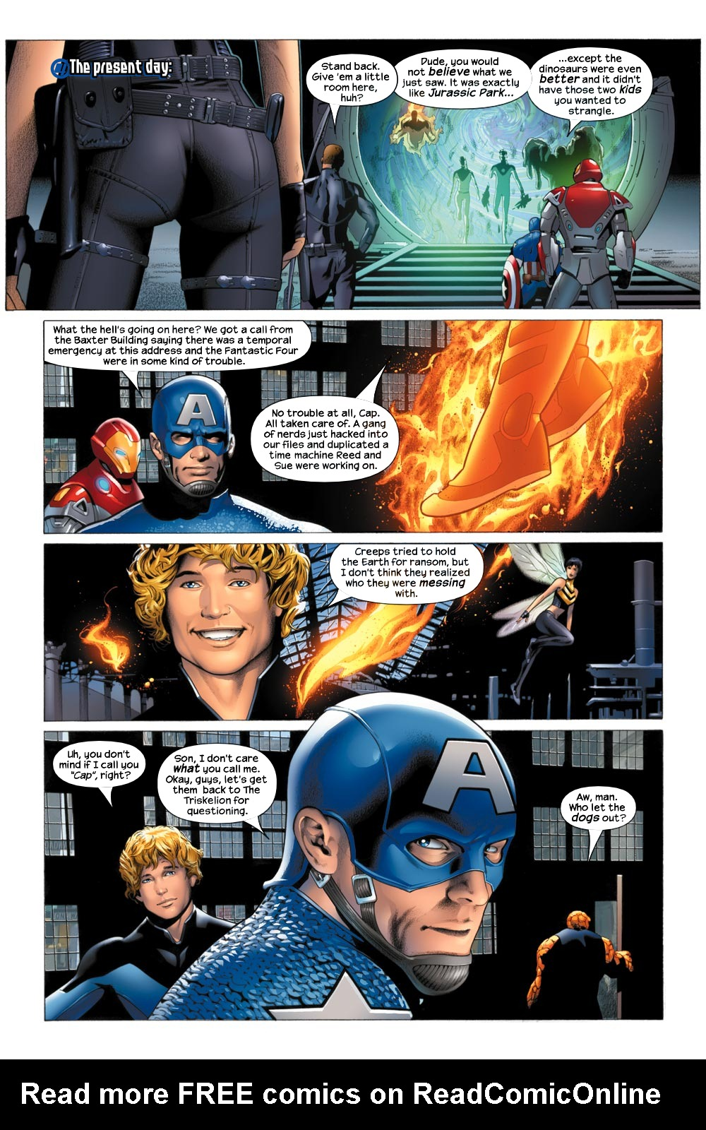 Read online Ultimate Fantastic Four (2004) comic -  Issue #21 - 8