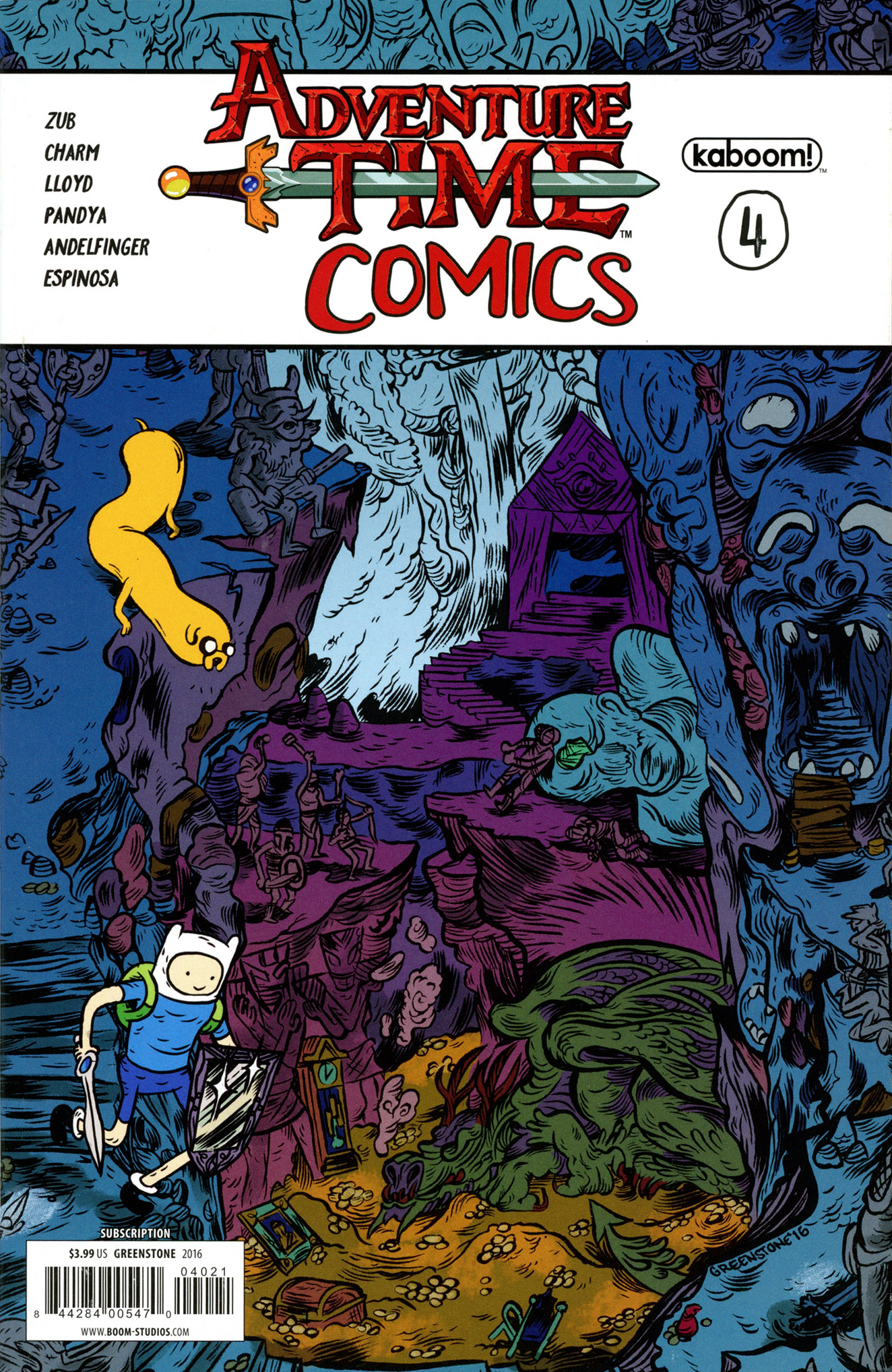 Read online Adventure Time Comics comic -  Issue #4 - 1