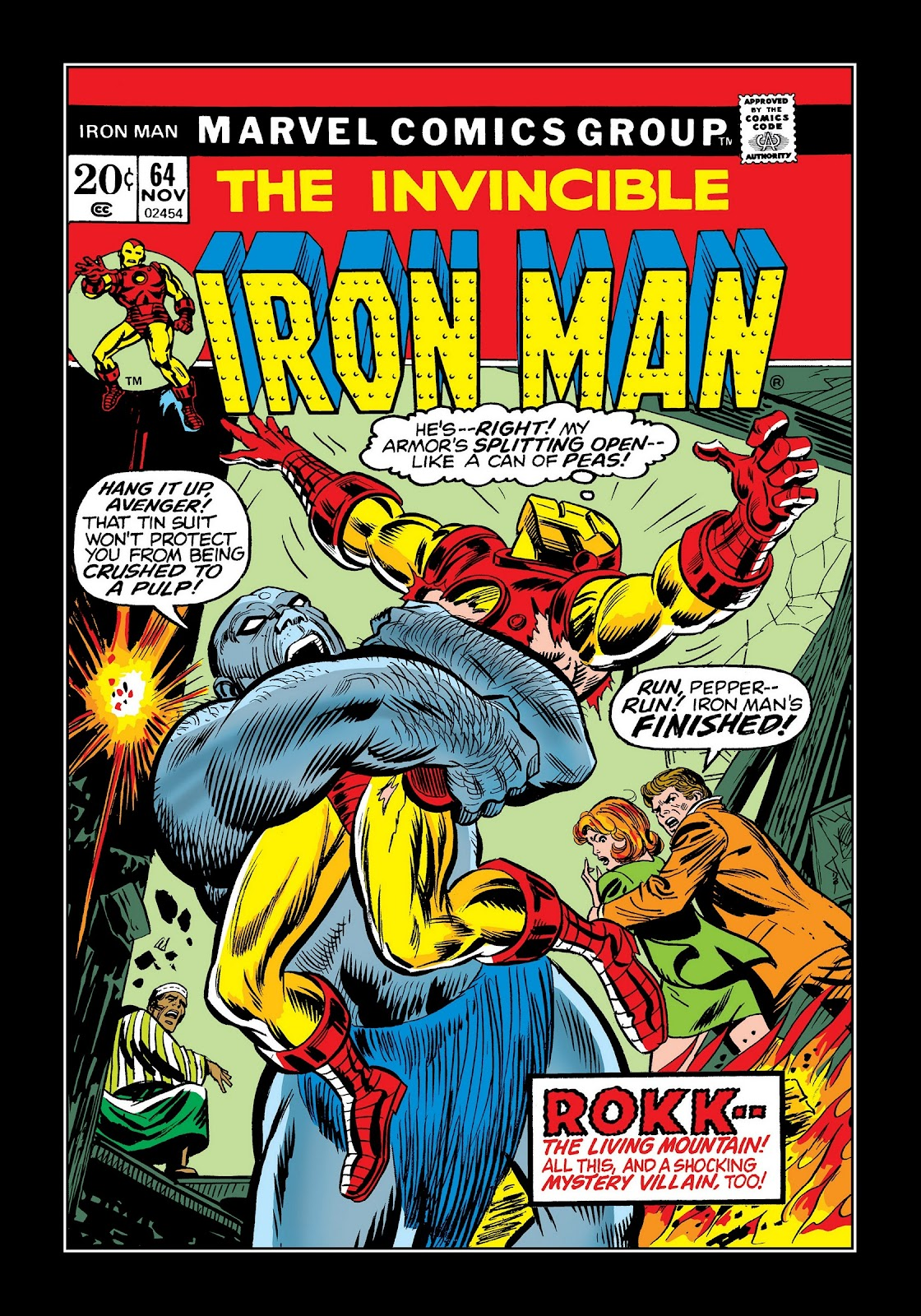 Read online Marvel Masterworks: The Invincible Iron Man comic -  Issue # TPB 9 (Part 3) - 14