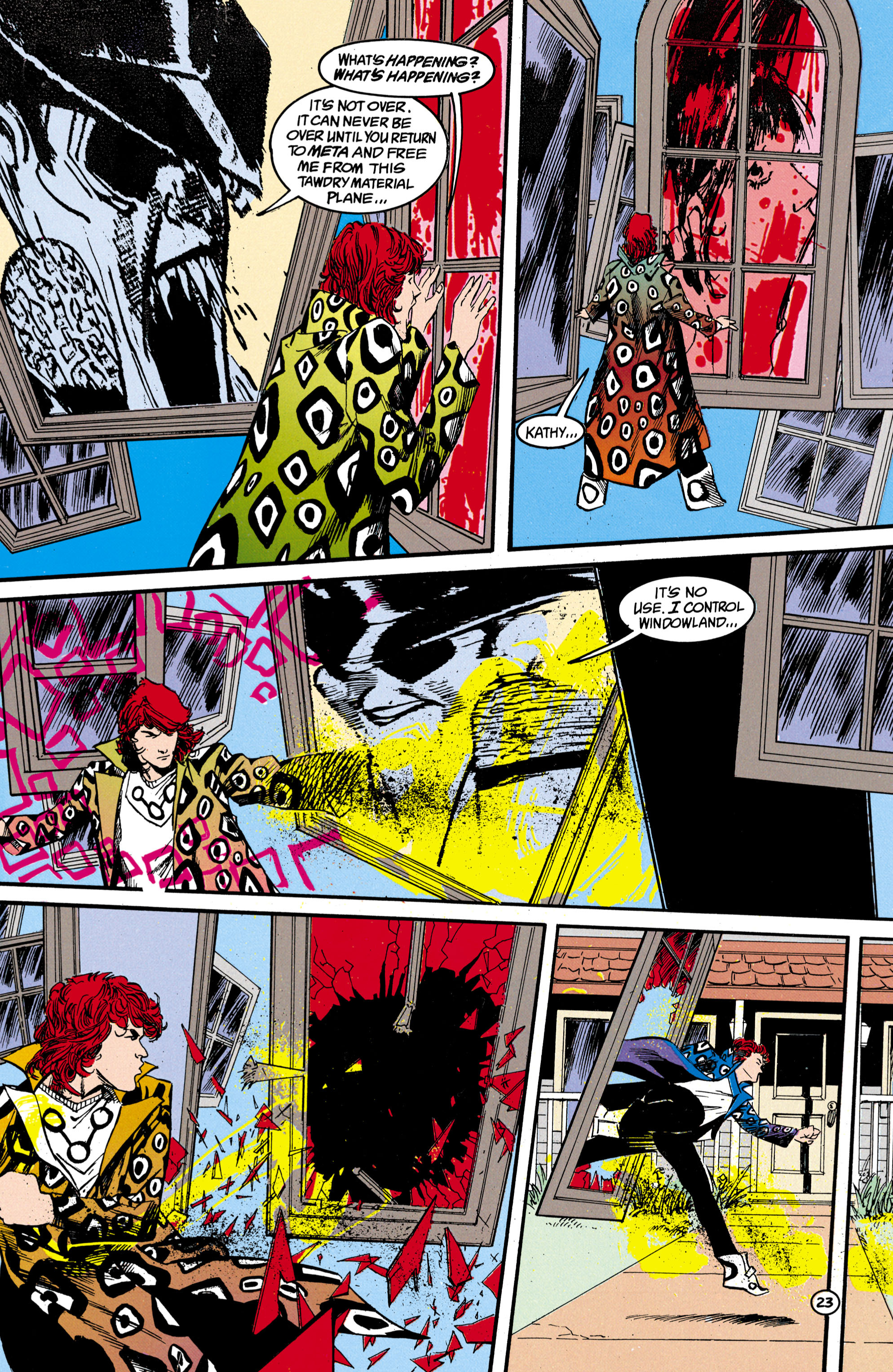 Read online Shade, the Changing Man comic -  Issue #17 - 24