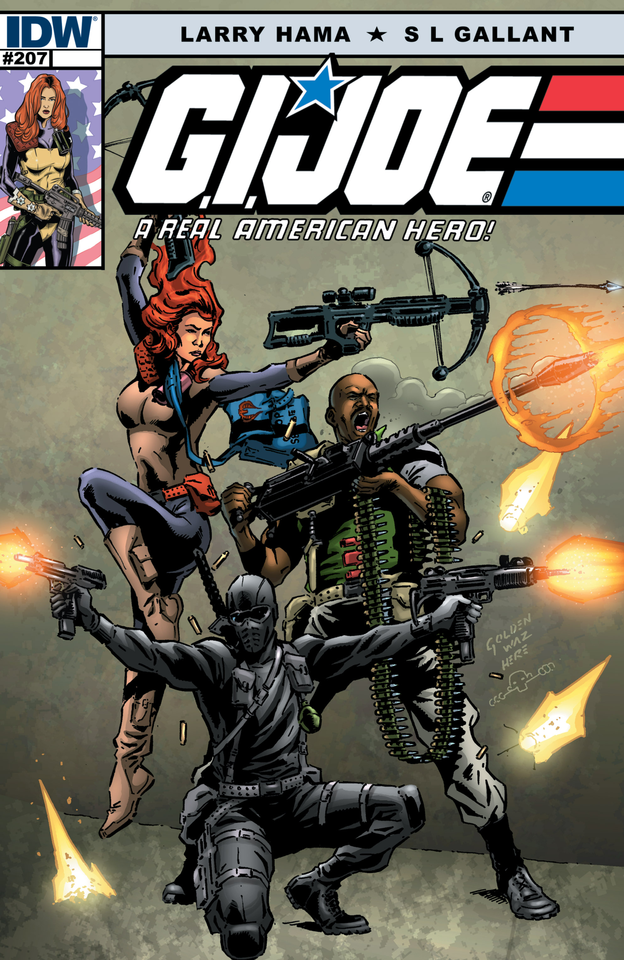 G.I. Joe: A Real American Hero 207 Page 1