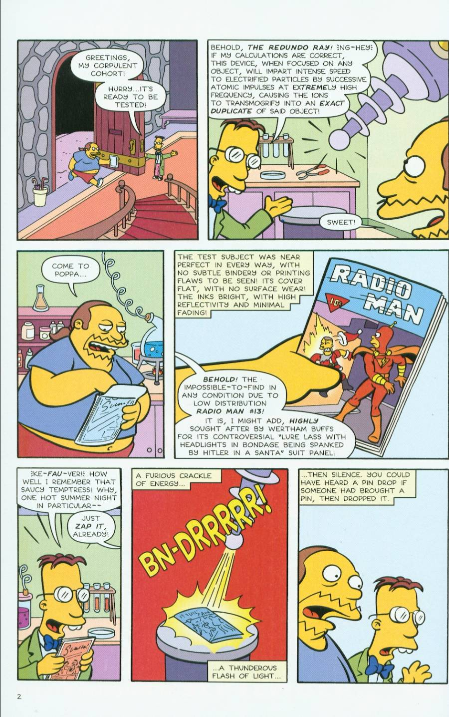 Read online Treehouse of Horror comic -  Issue #7 - 45