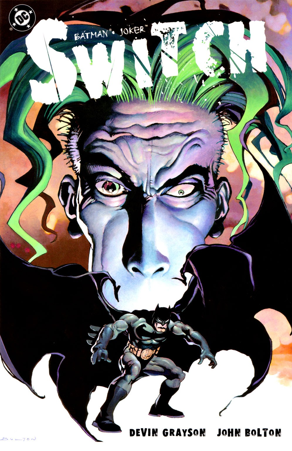 Batman/Joker: Switch Full Page 1