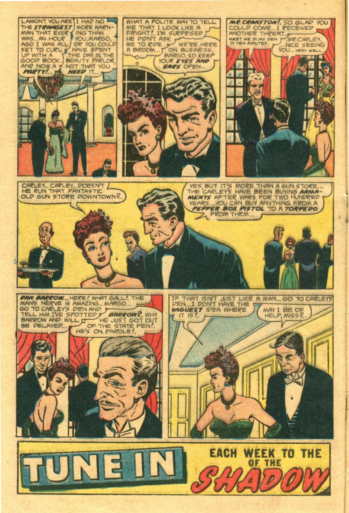 Read online Shadow Comics comic -  Issue #98 - 4