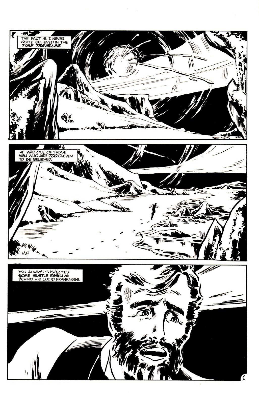 The Time Machine issue 1 - Page 3