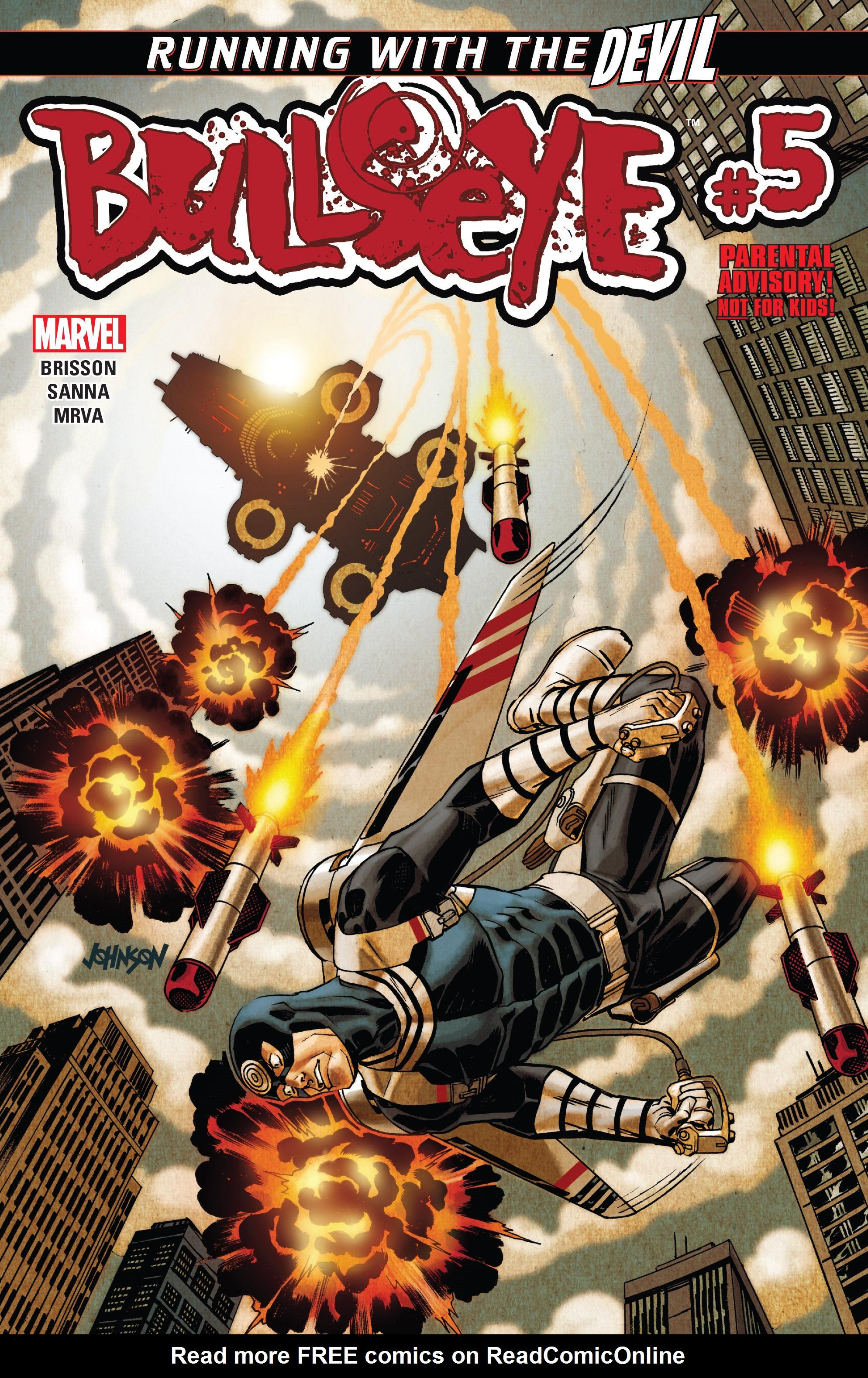 Read online Bullseye comic -  Issue #5 - 1