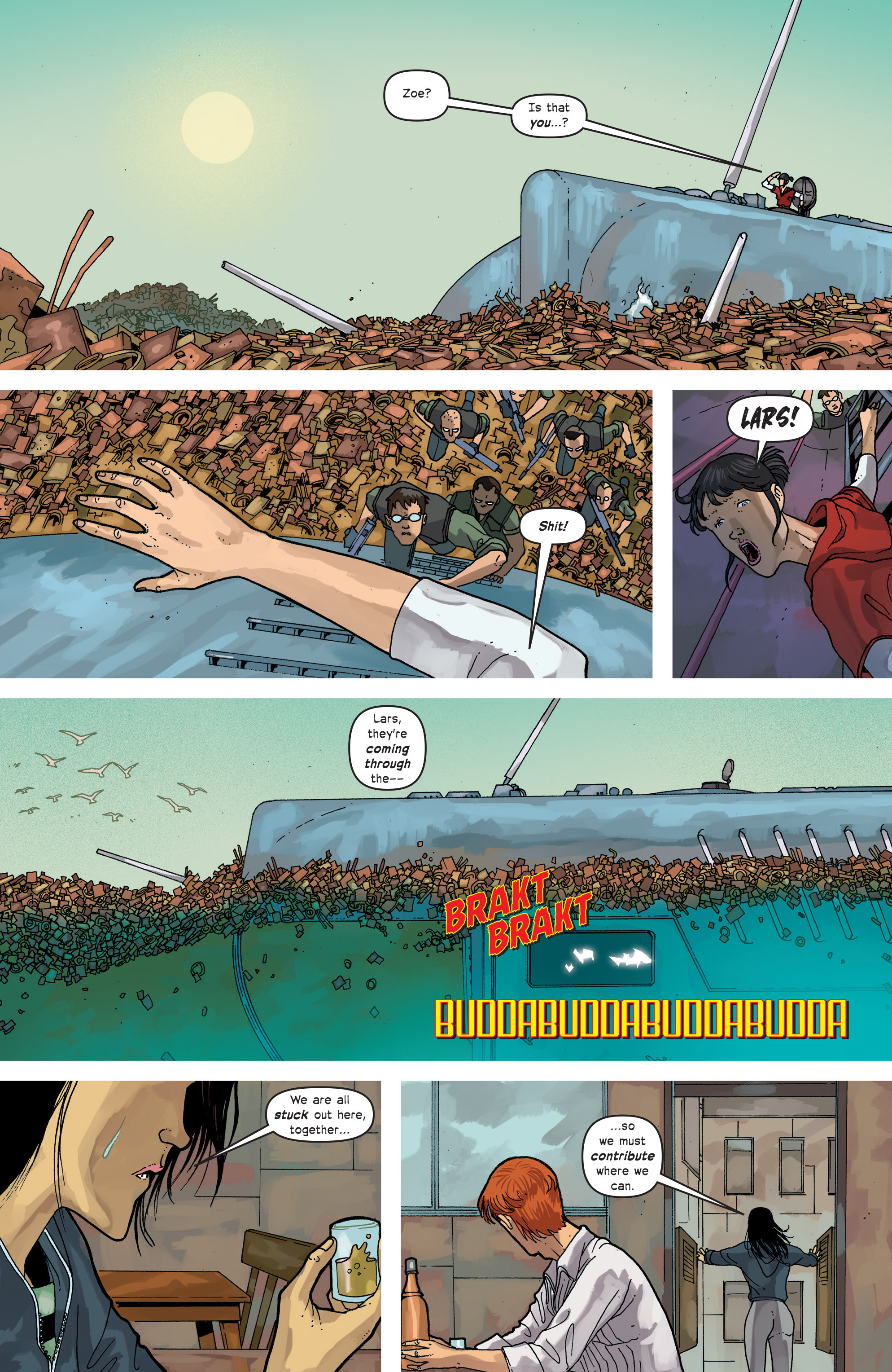 Read online Great Pacific comic -  Issue #12 - 21
