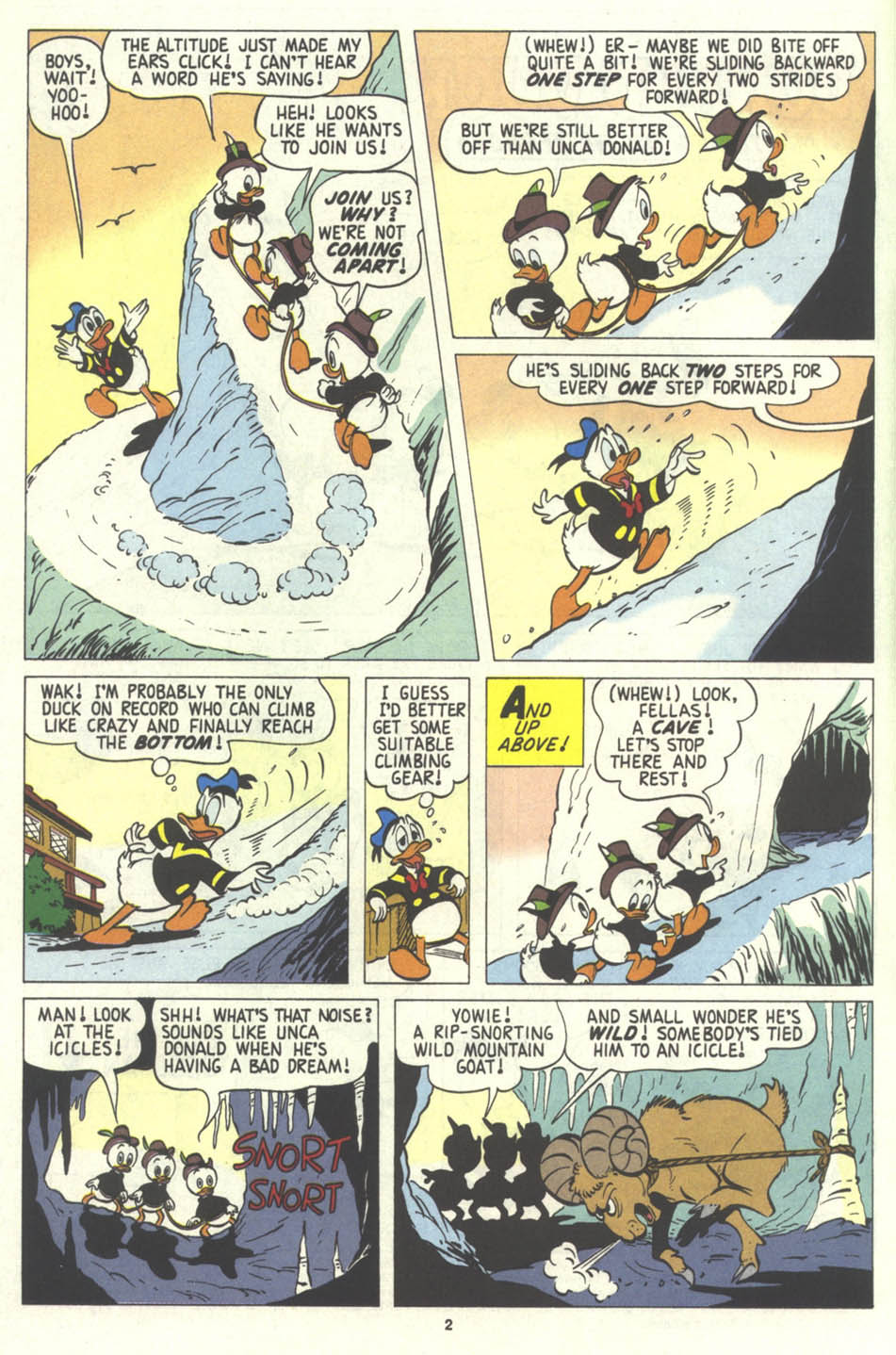 Walt Disney's Comics and Stories issue 574 - Page 3