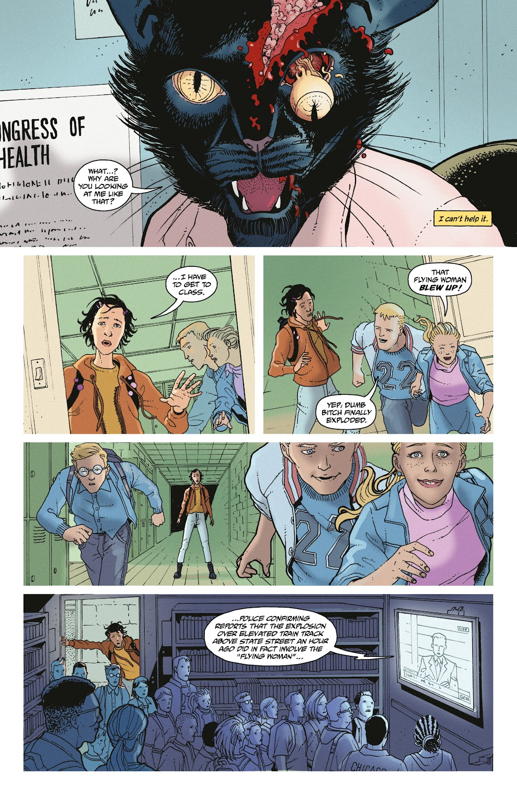 Read online She Could Fly comic -  Issue # _TPB - 29