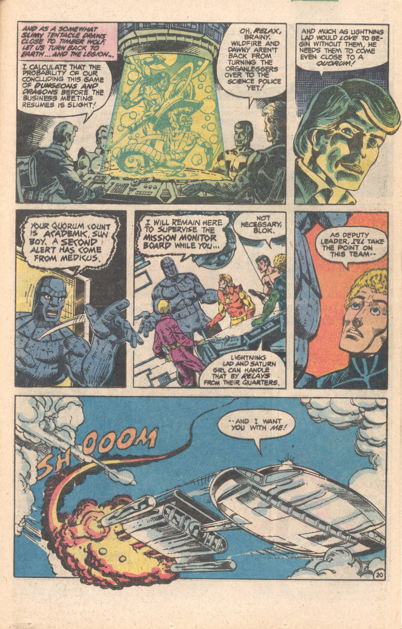 Legion of Super-Heroes (1980) 284 Page 20