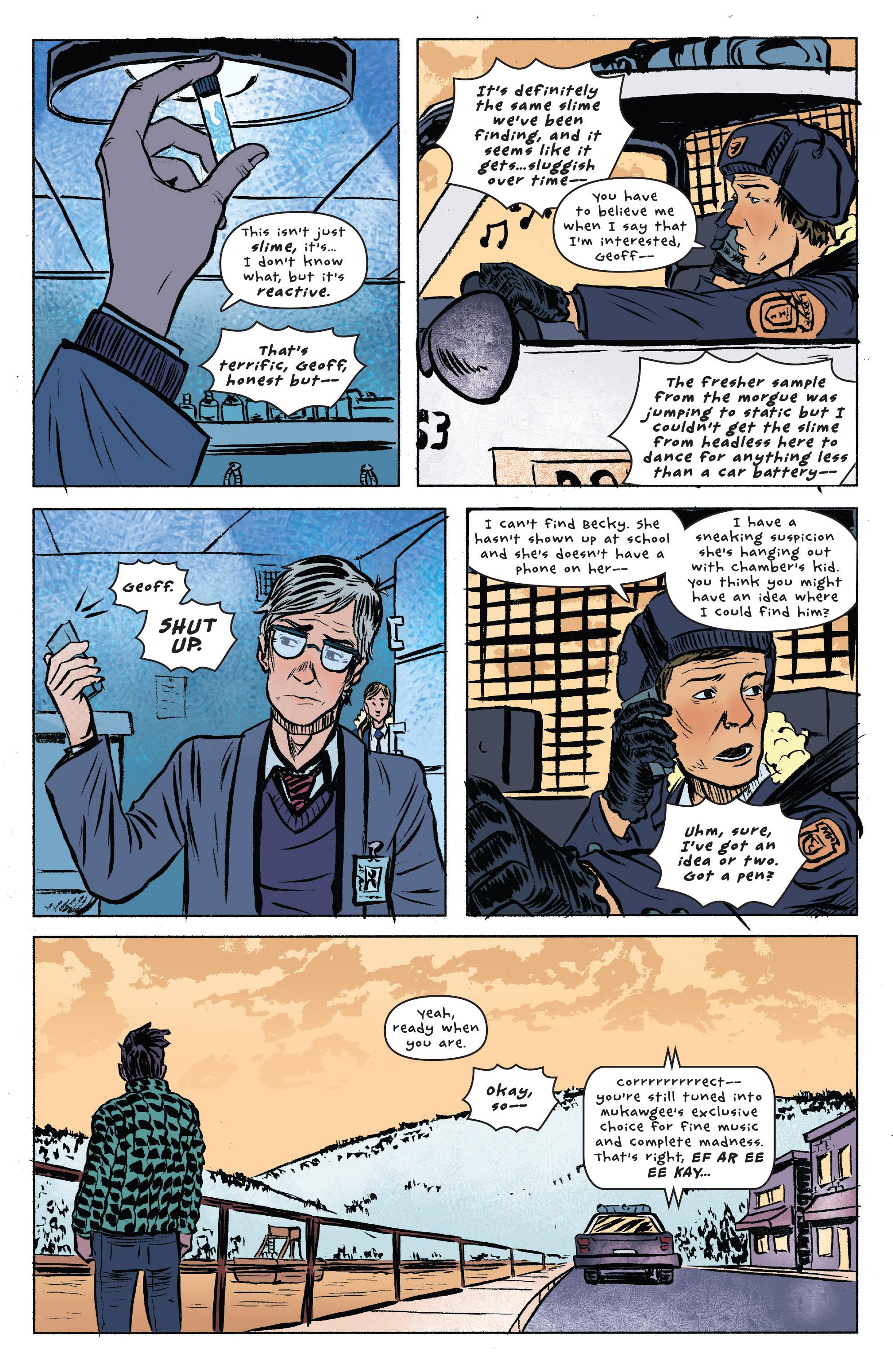 Read online UFOlogy comic -  Issue #4 - 16
