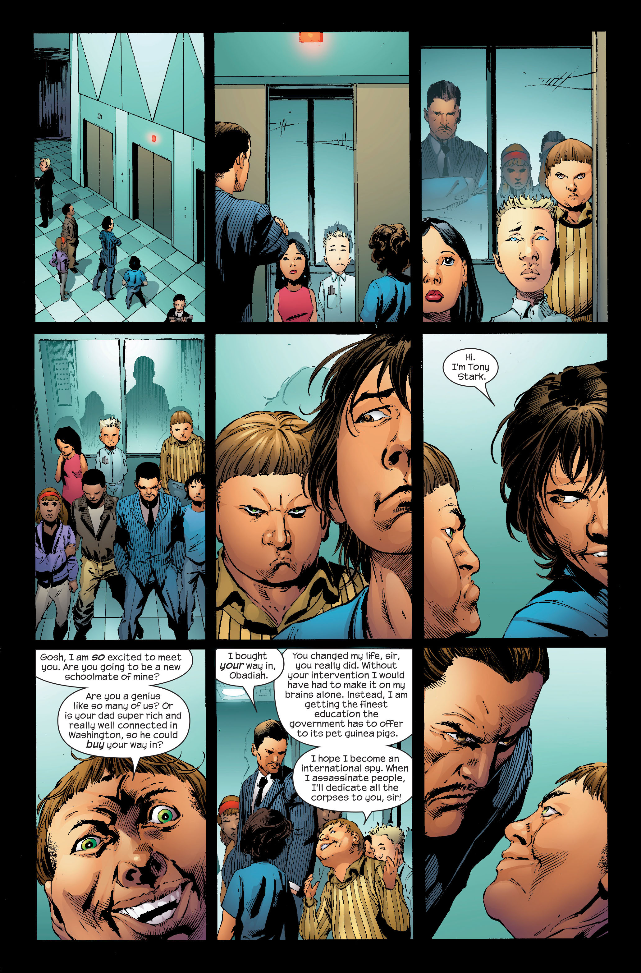Read online Ultimate Iron Man (2005) comic -  Issue #4 - 17