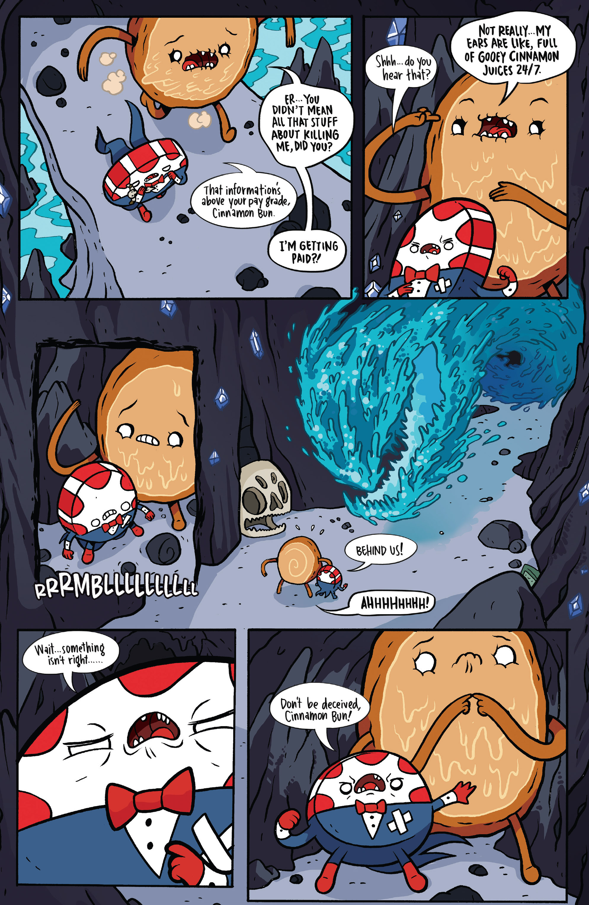 Read online Adventure Time: Candy Capers comic -  Issue #5 - 12