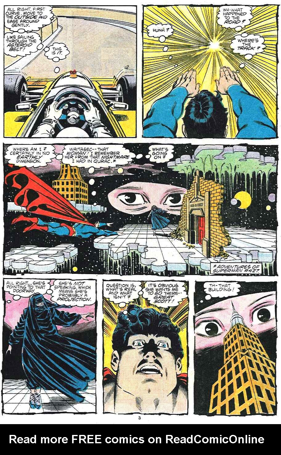 Read online Adventures of Superman (1987) comic -  Issue #435 - 4