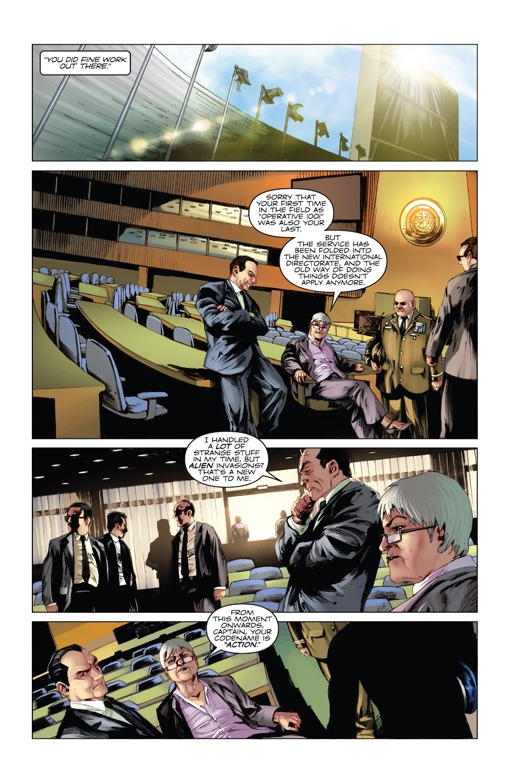 Read online Codename: Action comic -  Issue #5 - 25