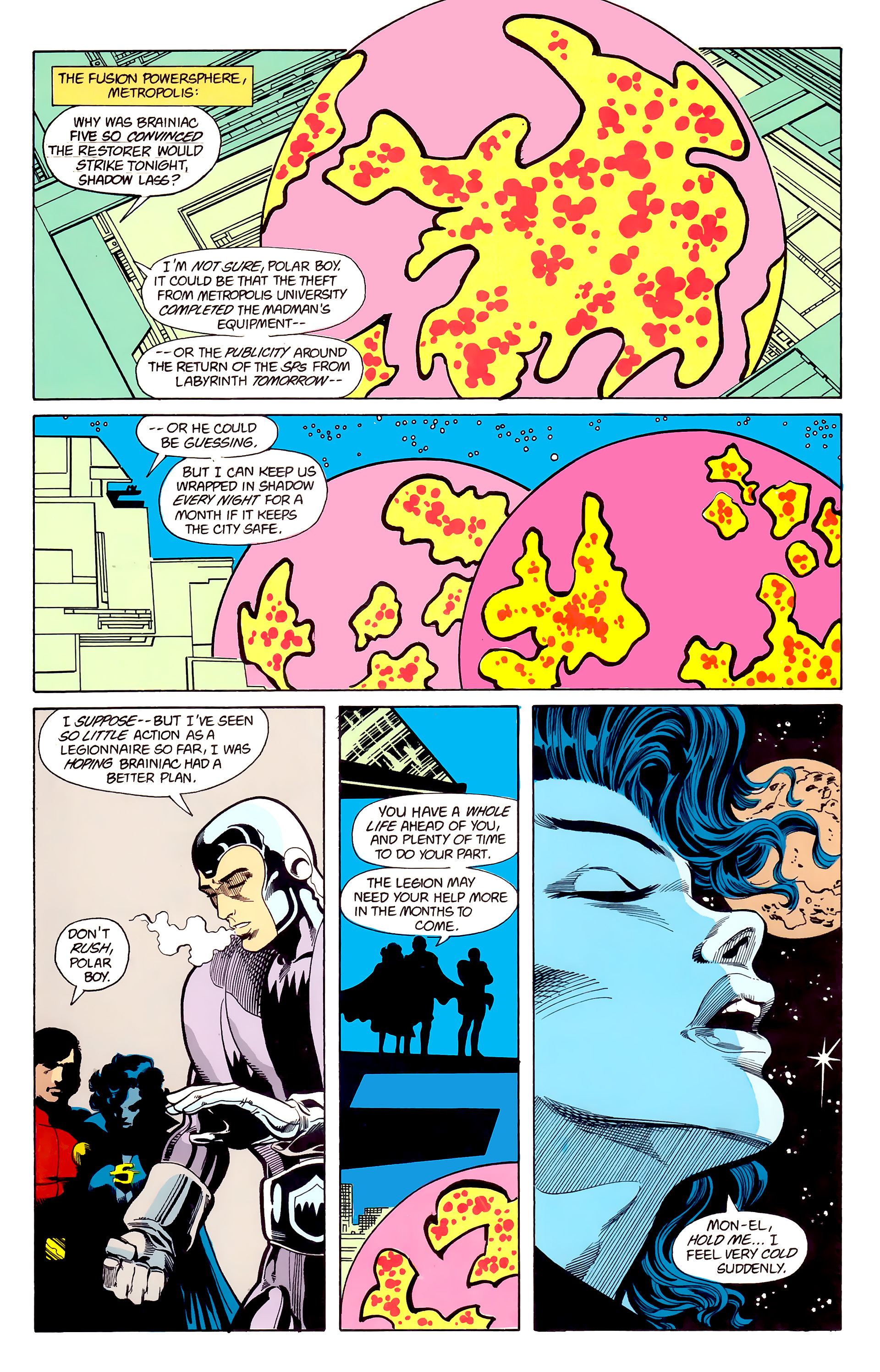 Legion of Super-Heroes (1984) 22 Page 21