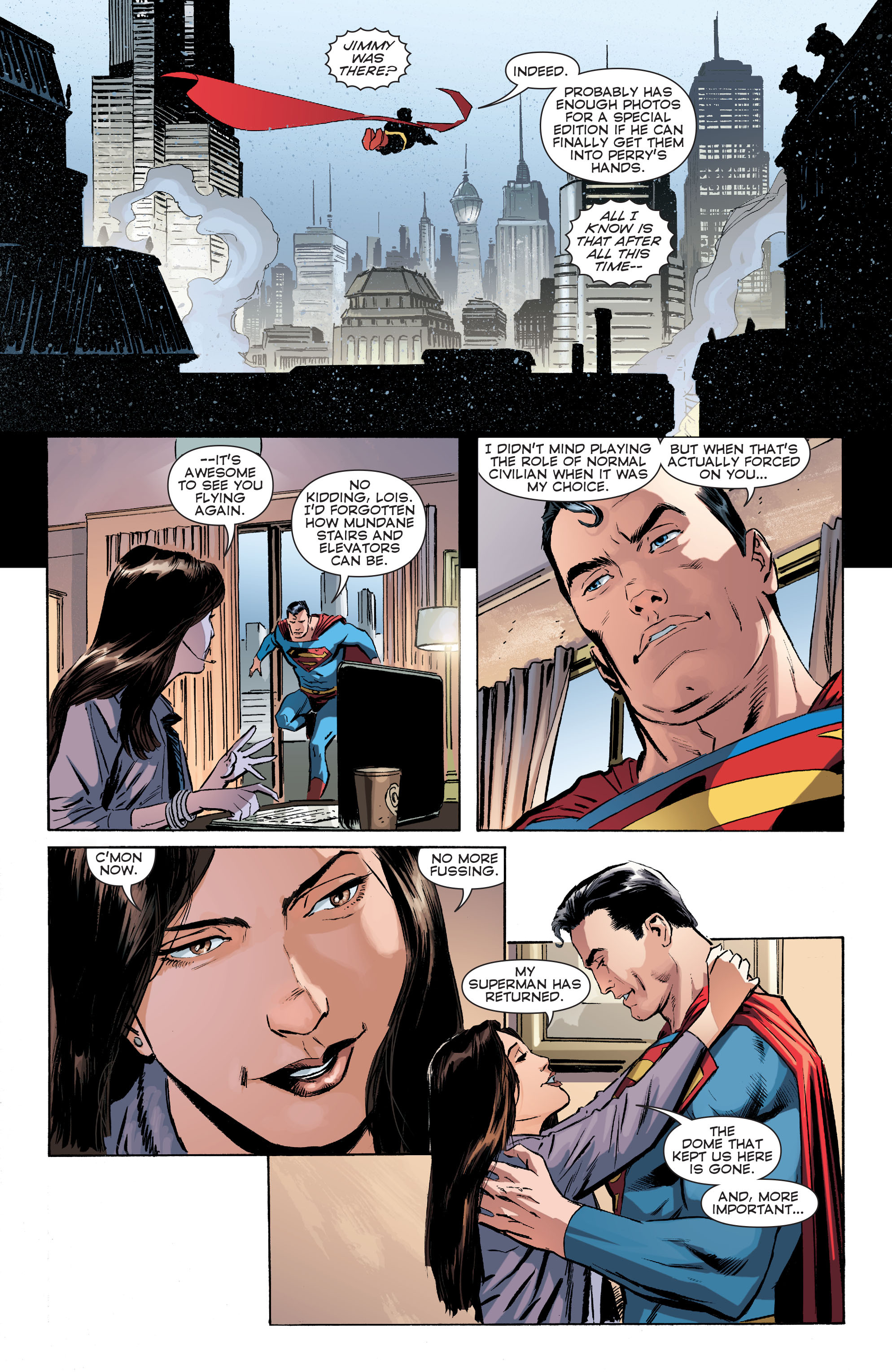 Read online Convergence Superman comic -  Issue #1 - 9
