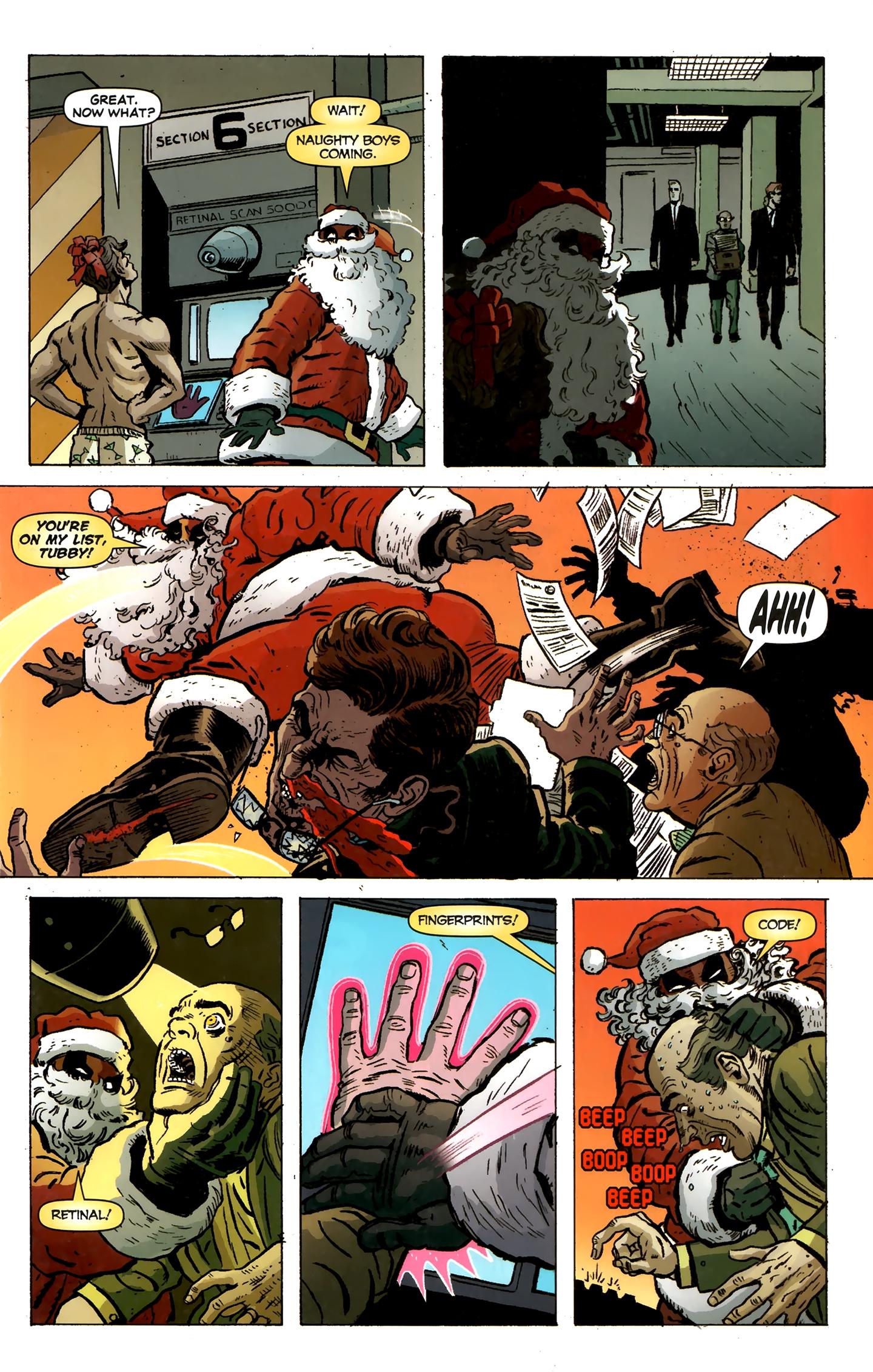 Read online Deadpool MAX X-Mas Special comic -  Issue # Full - 7