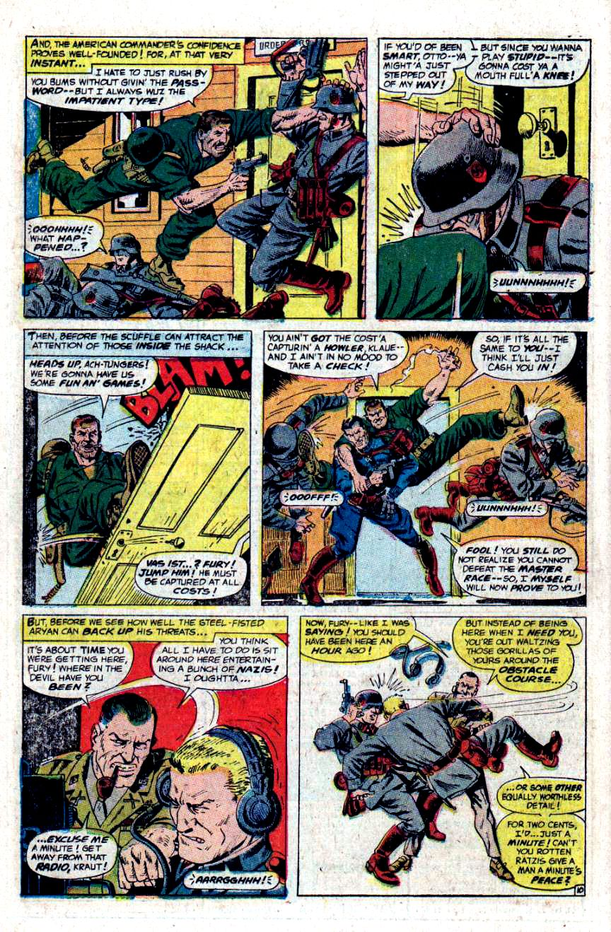 Read online Sgt. Fury comic -  Issue #48 - 14