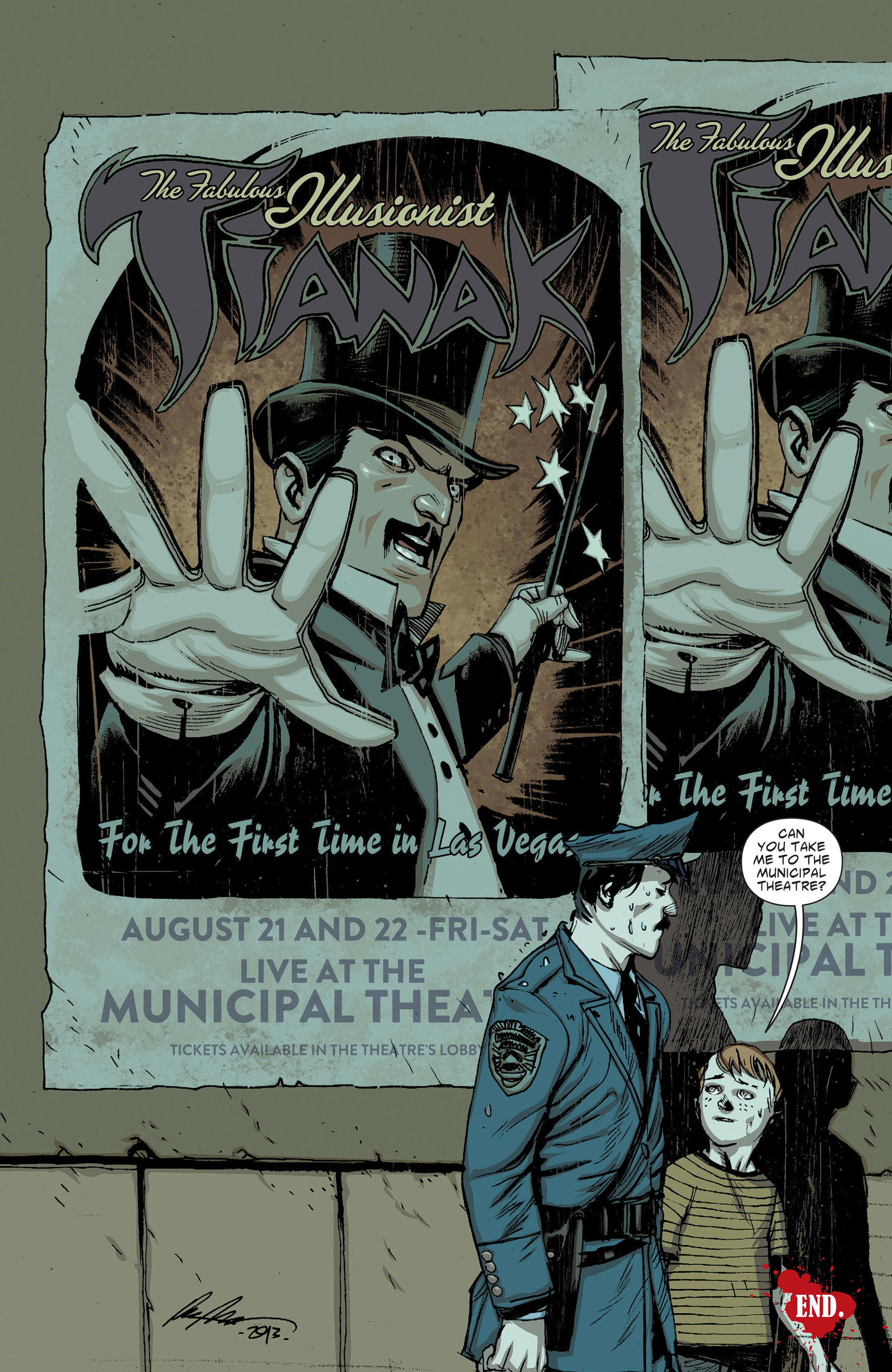 Read online American Vampire: The Long Road To Hell comic -  Issue # Full - 57