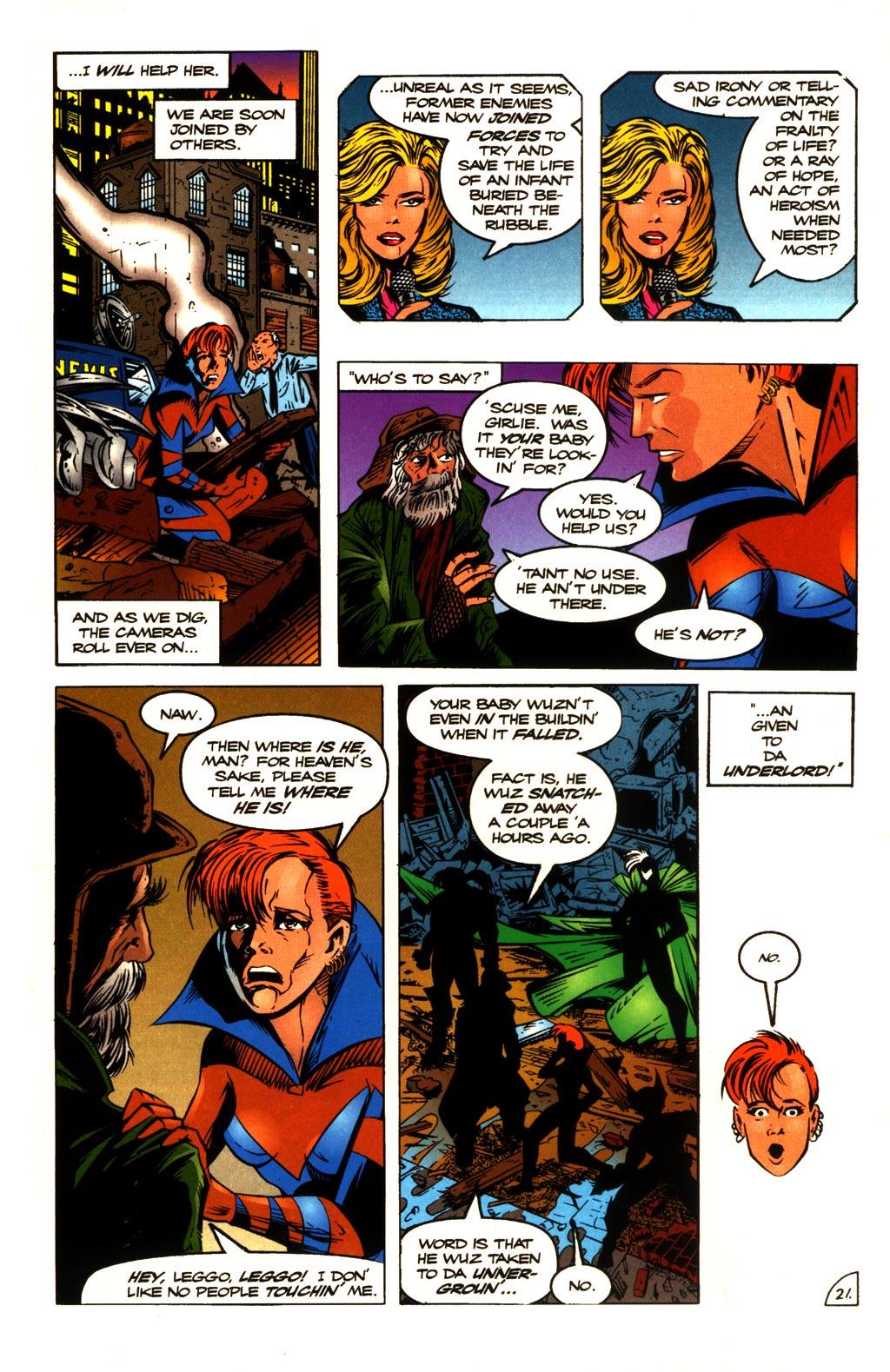 Read online ShadowHawk comic -  Issue #10 - 22
