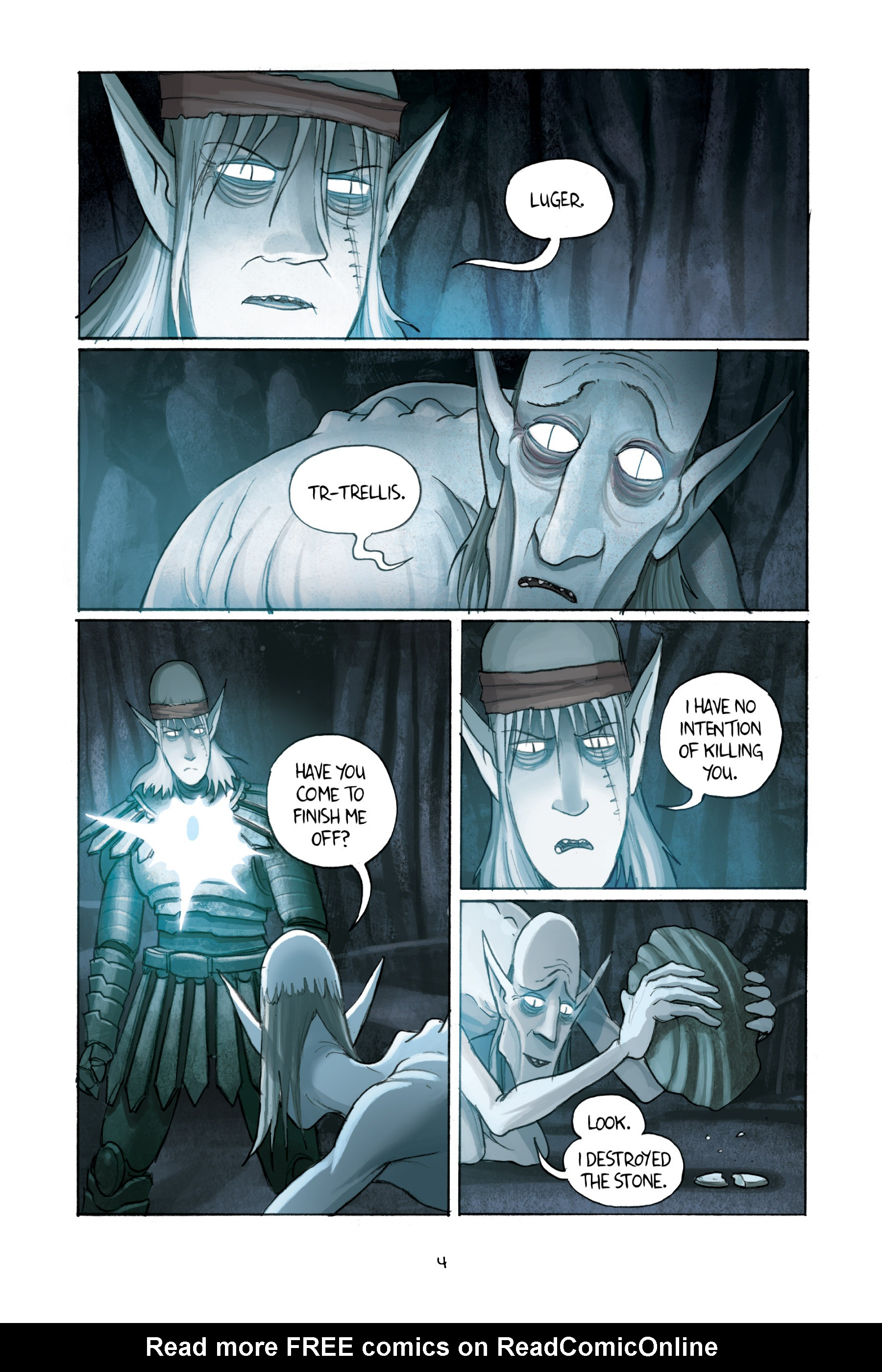Read online Amulet comic -  Issue #3 - 6