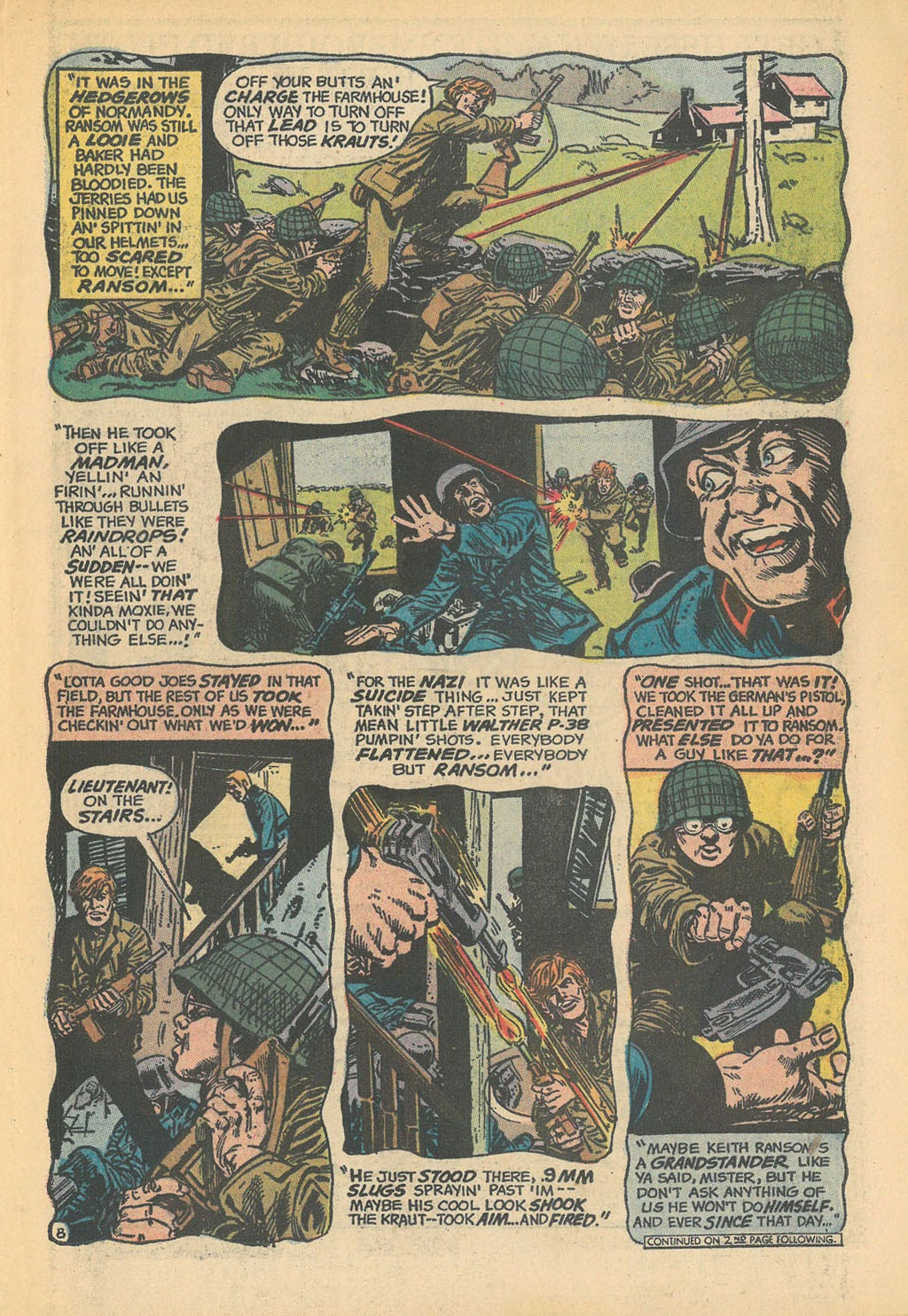 Read online Star Spangled War Stories (1952) comic -  Issue #168 - 11