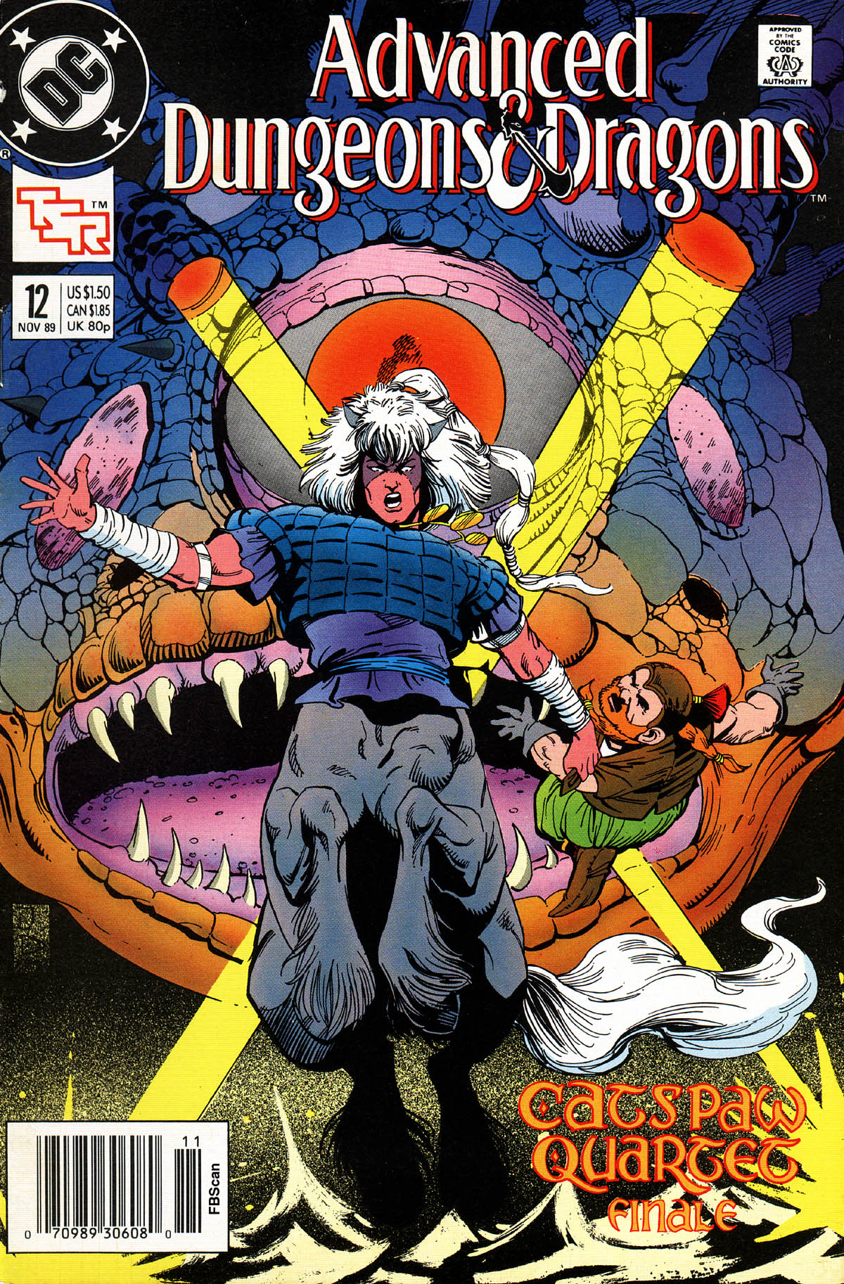 Read online Advanced Dungeons & Dragons comic -  Issue #12 - 1