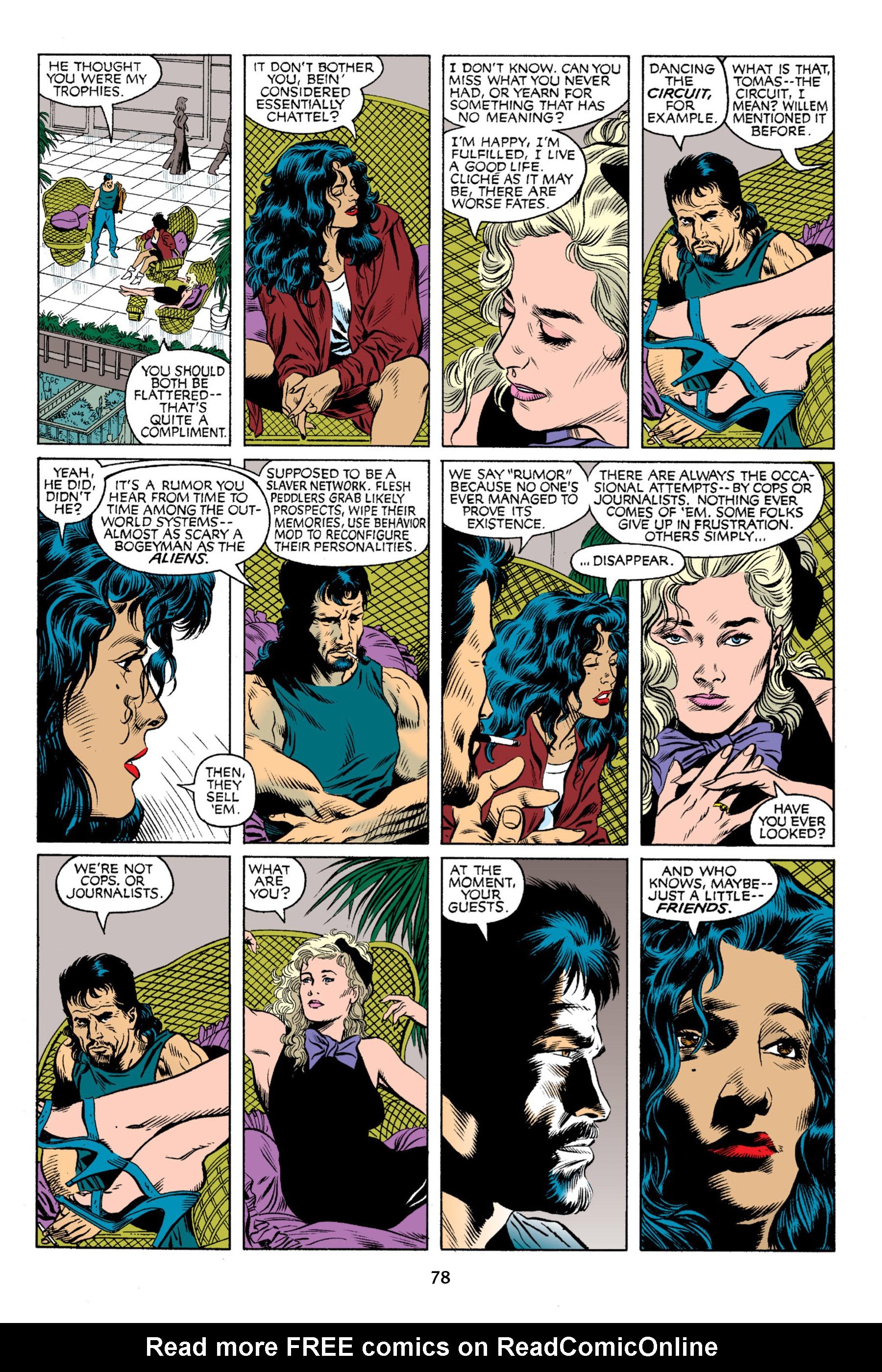 Read online Aliens vs. Predator Omnibus comic -  Issue # _TPB 2 Part 1 - 77