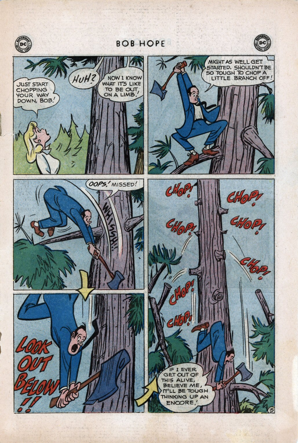 The Adventures of Bob Hope issue 59 - Page 19