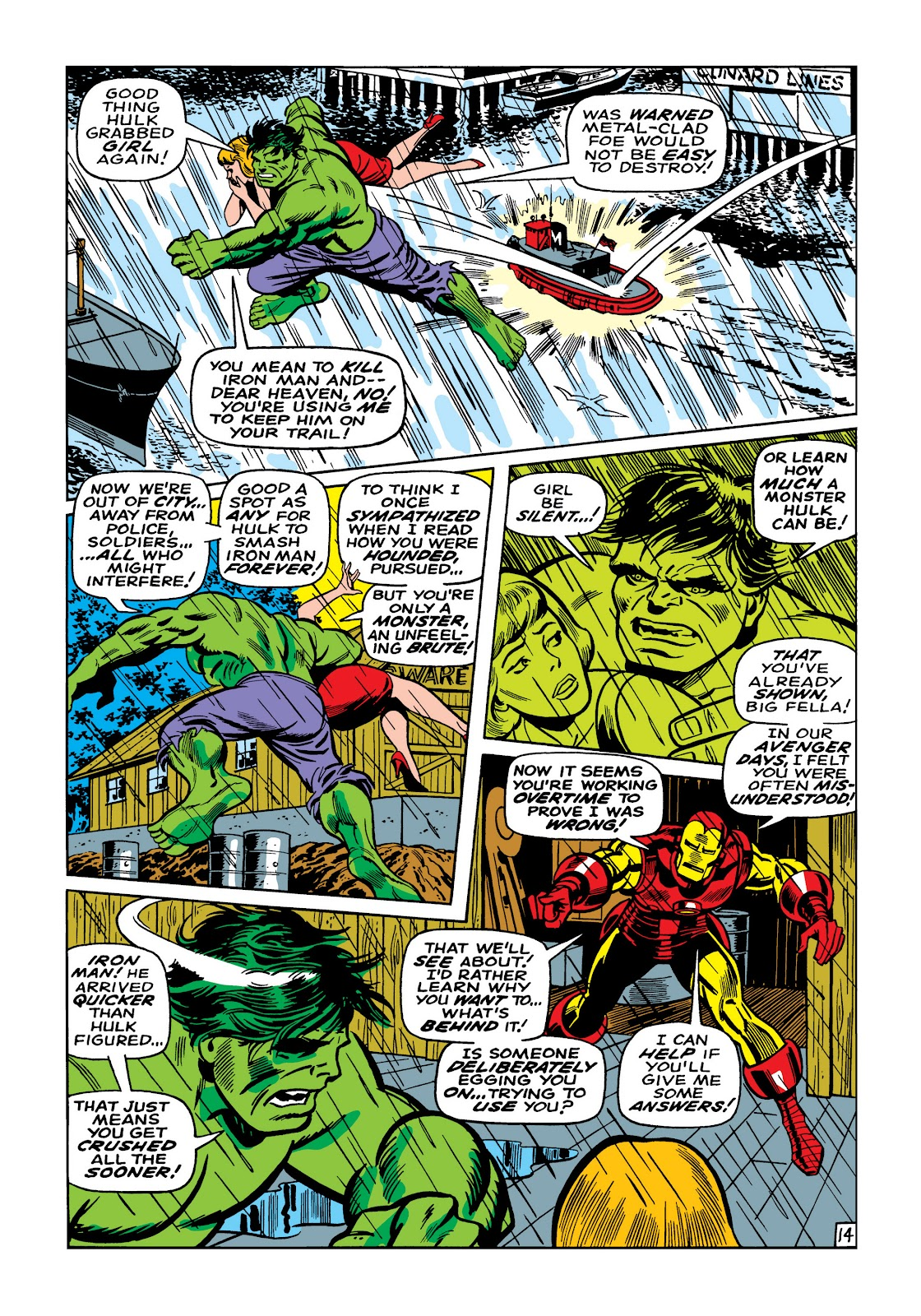 Read online Marvel Masterworks: The Invincible Iron Man comic -  Issue # TPB 5 (Part 2) - 68