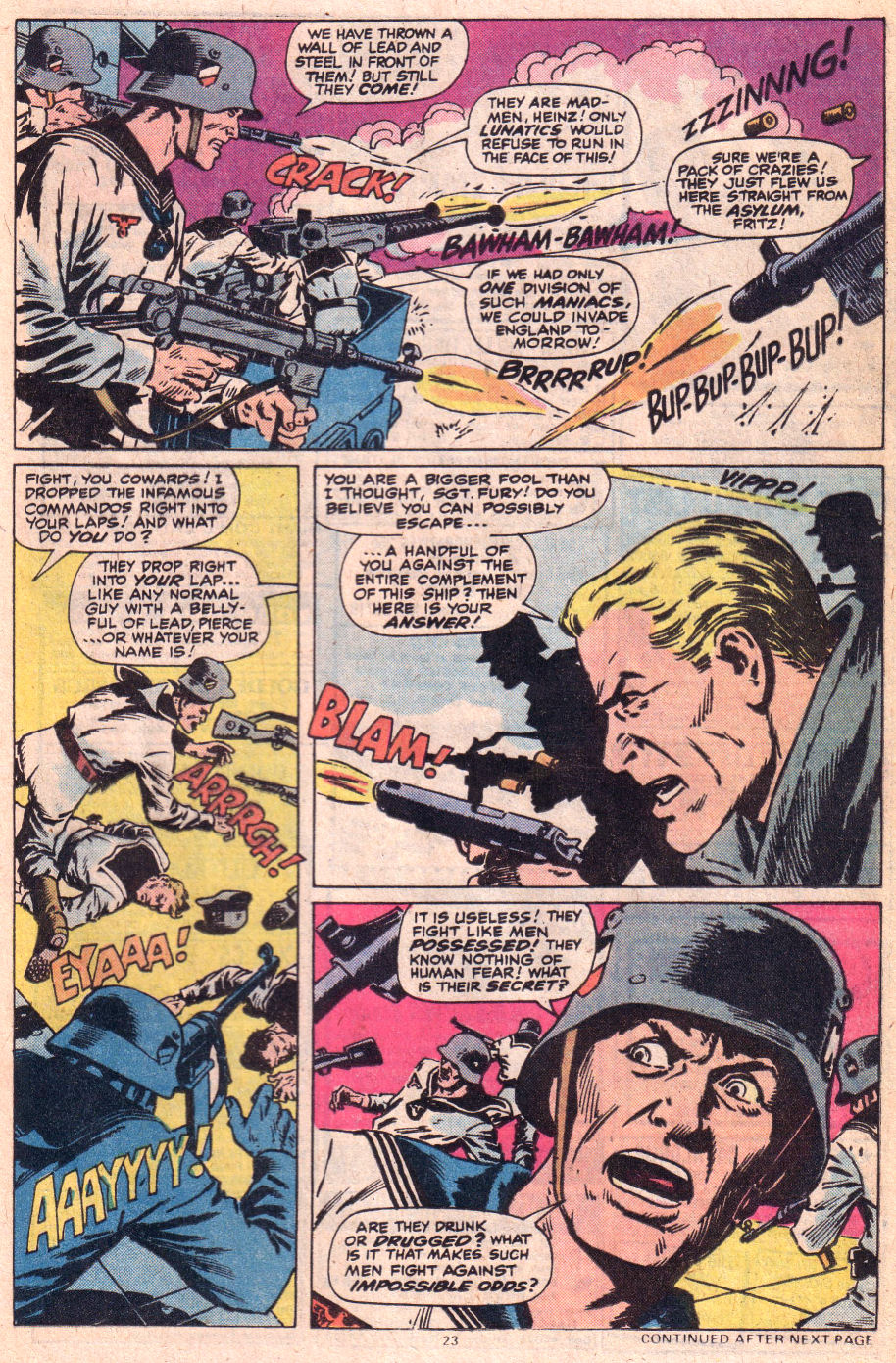 Read online Sgt. Fury comic -  Issue #153 - 24