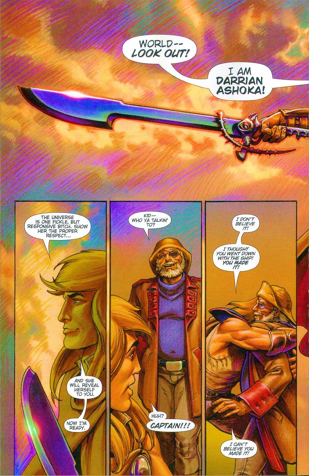 Read online Dawn: Three Tiers comic -  Issue #6 - 21