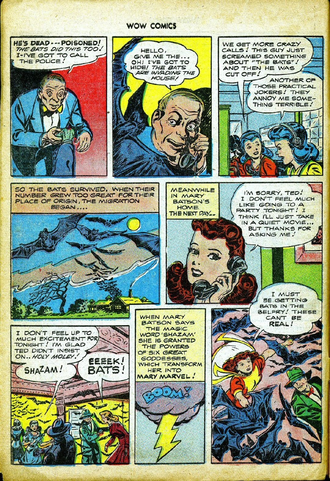Wow Comics issue 57 - Page 6
