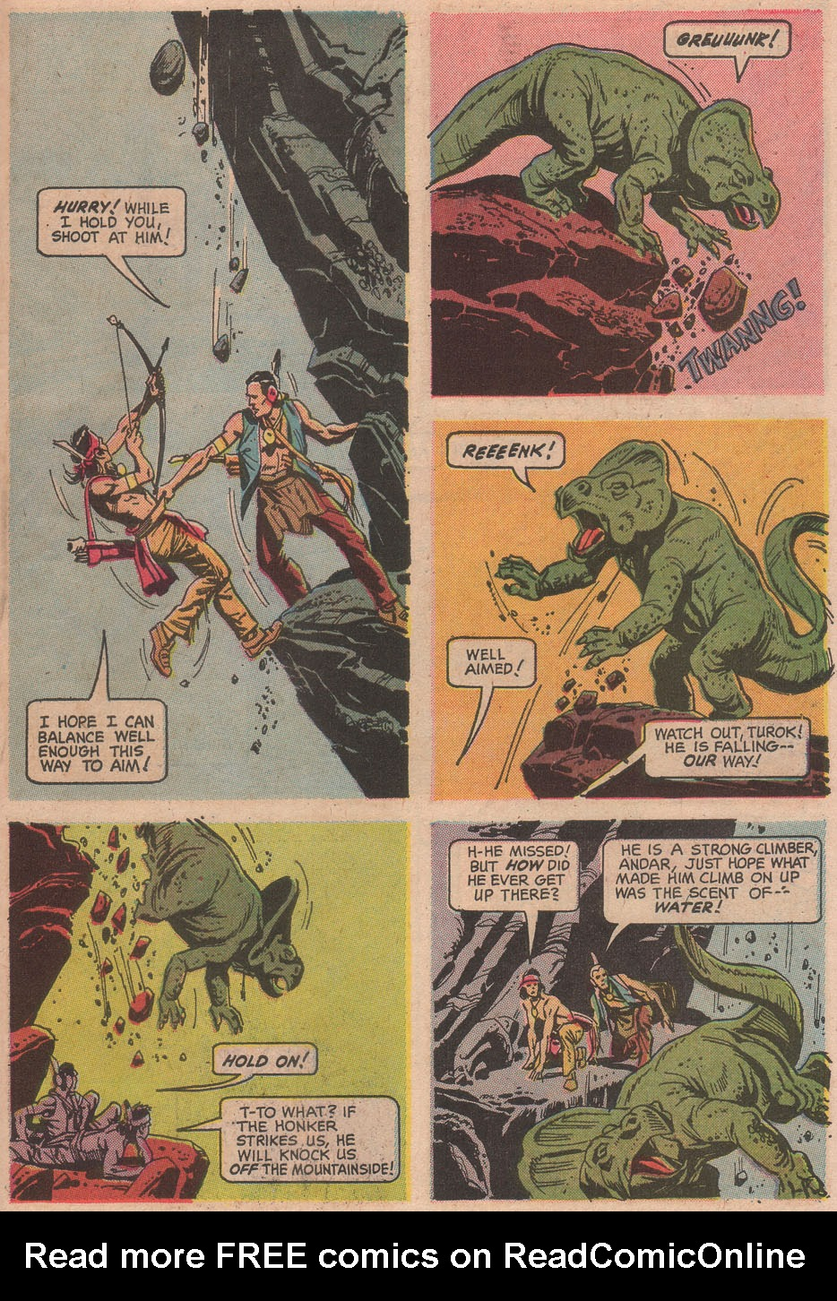Read online Turok, Son of Stone comic -  Issue #63 - 31