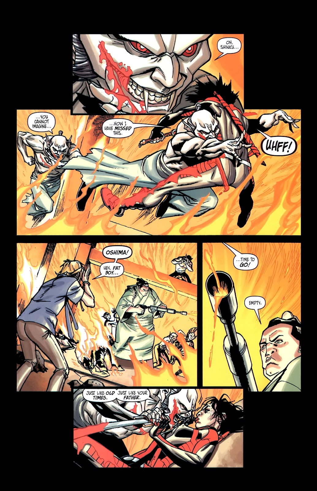 Read online Shinku comic -  Issue #5 - 20