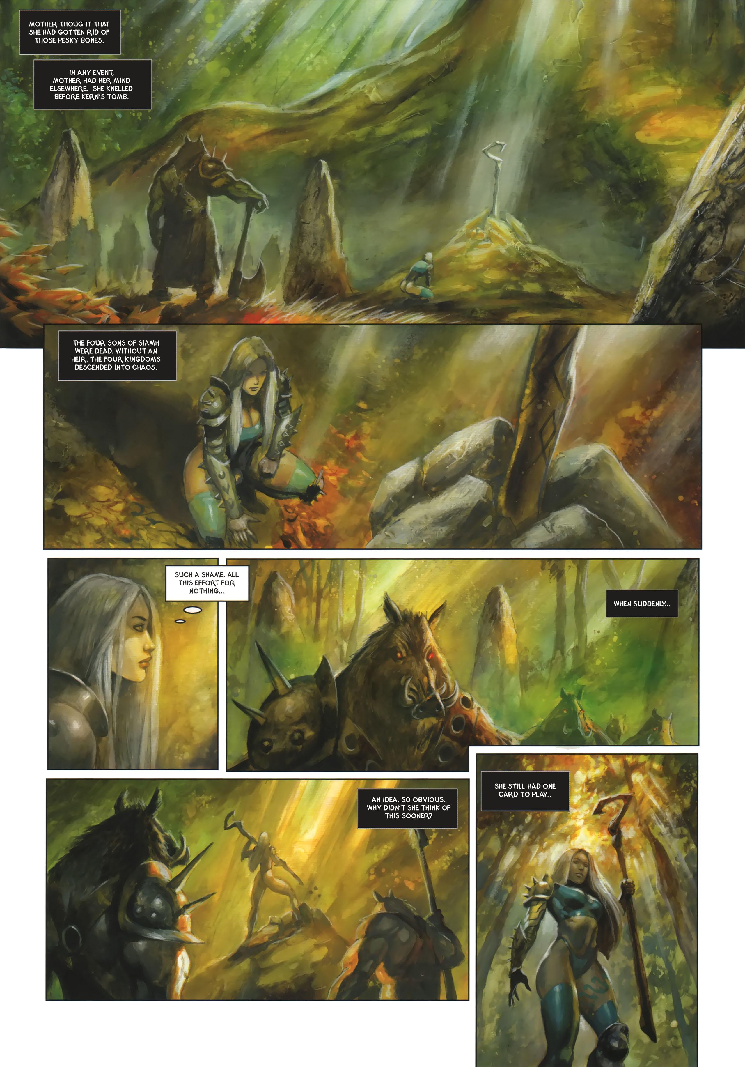 Read online Arawn comic -  Issue #6 - 32
