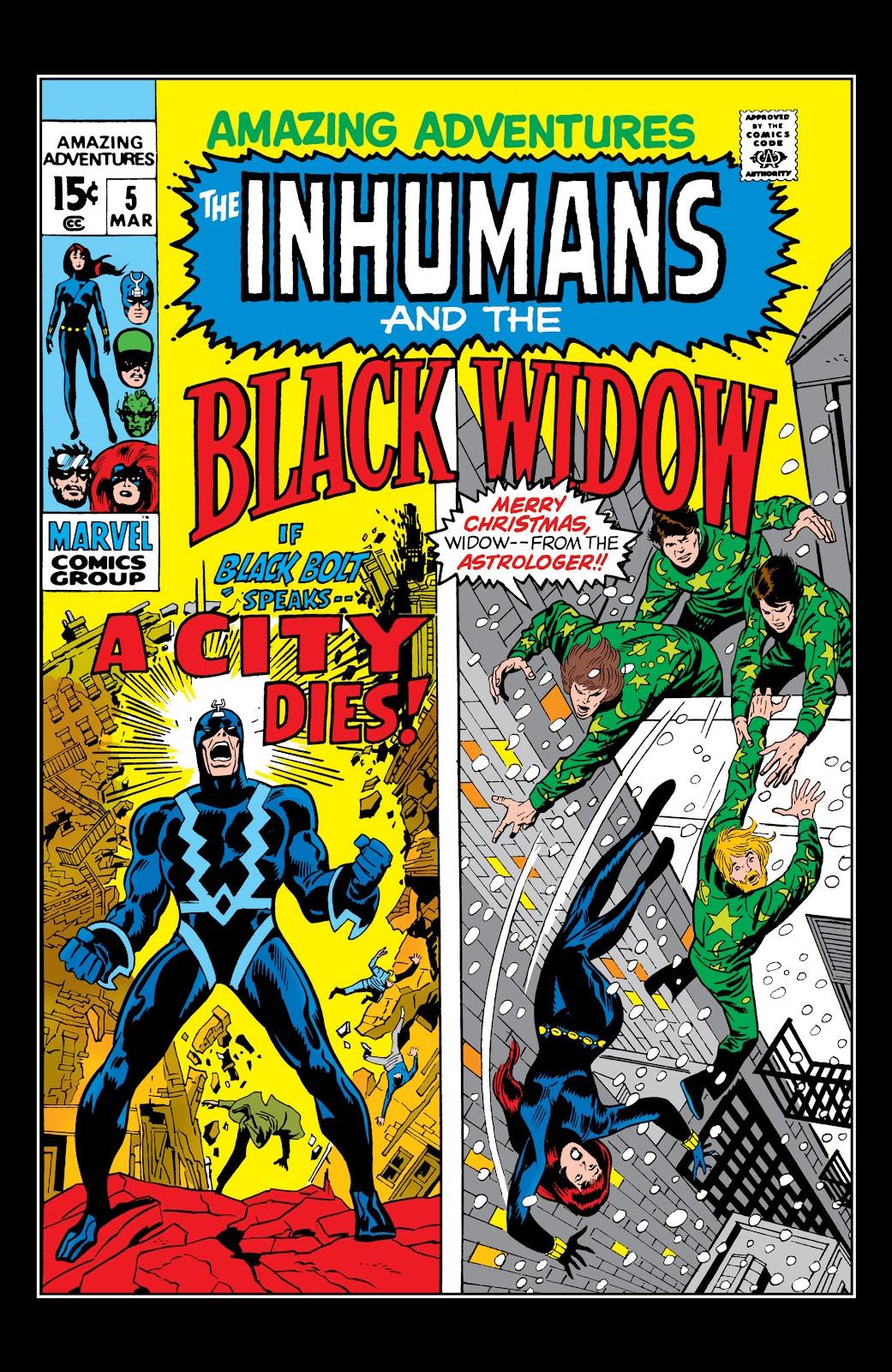 Read online Marvel Masterworks: The Inhumans comic -  Issue # TPB 1 (Part 2) - 13