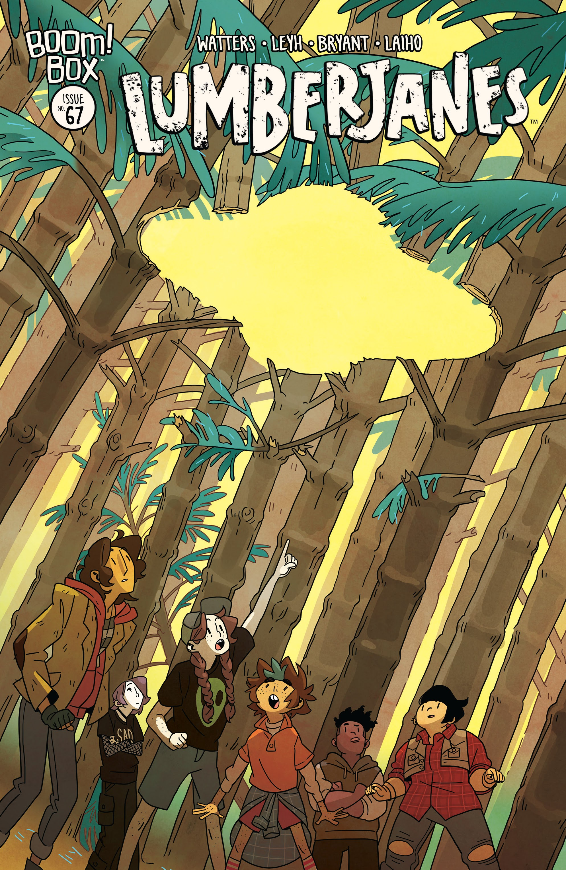 Lumberjanes 67 Page 1