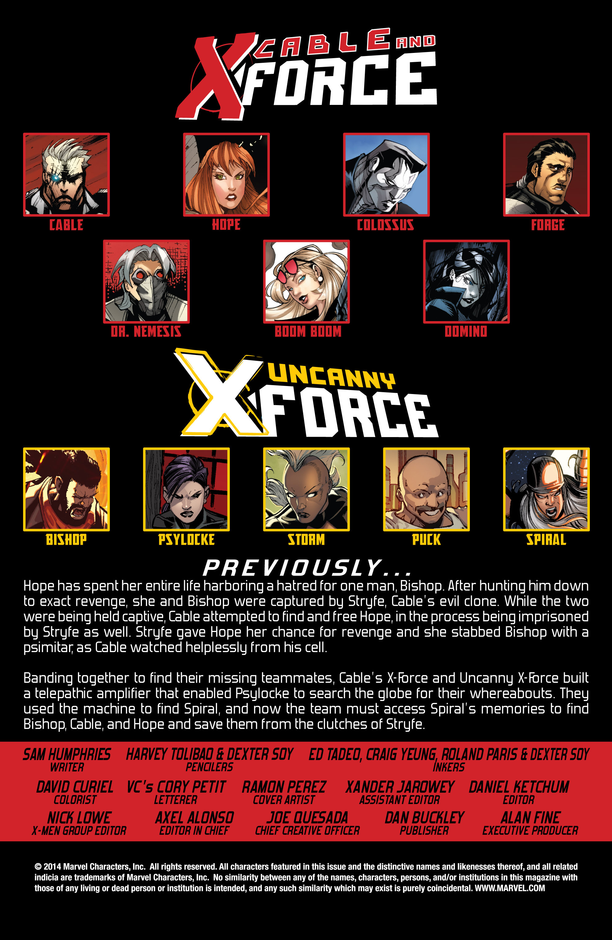 Read online Uncanny X-Force (2013) comic -  Issue #17 - 2