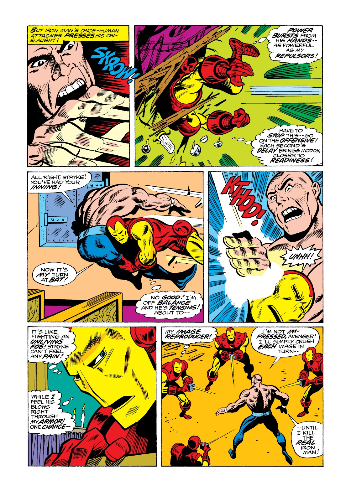Read online Marvel Masterworks: The Invincible Iron Man comic -  Issue # TPB 11 (Part 3) - 105