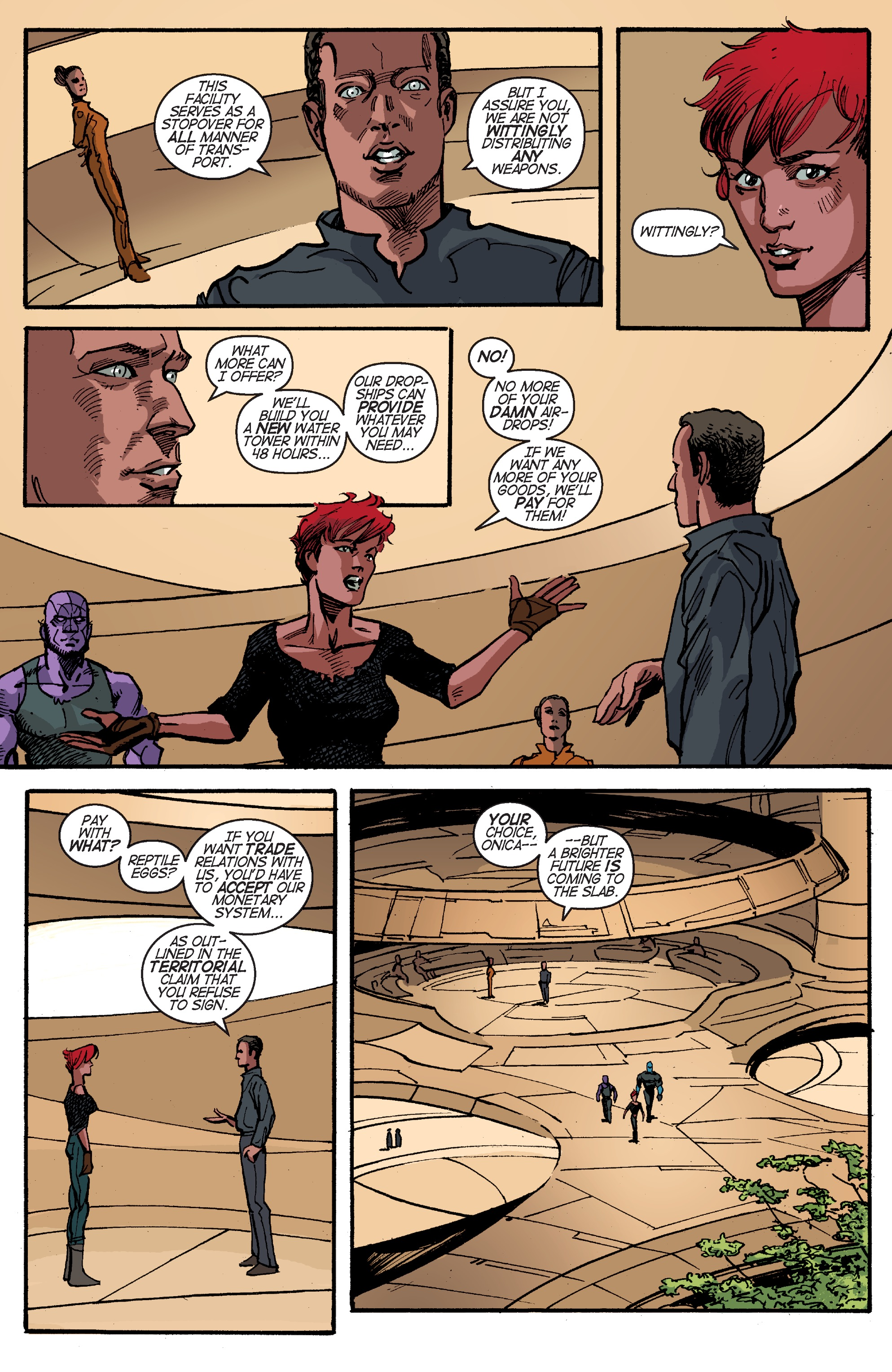 Read online Planetoid Praxis comic -  Issue #4 - 12