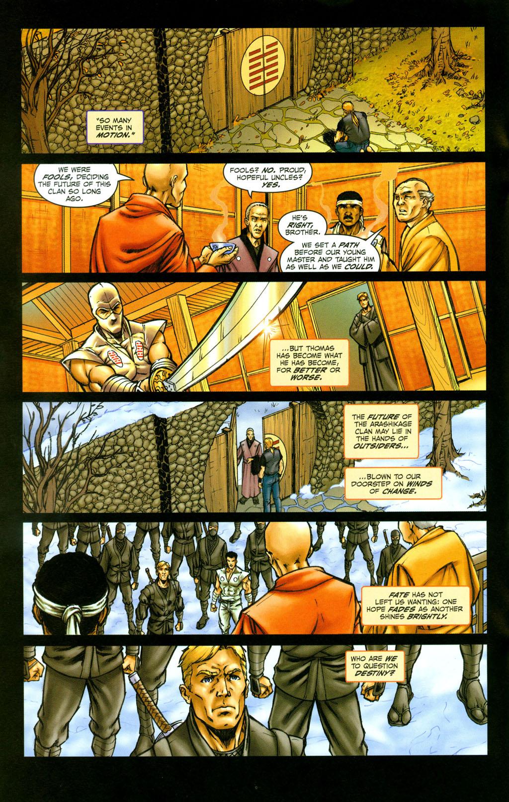 Read online Snake Eyes: Declassified comic -  Issue #4 - 15