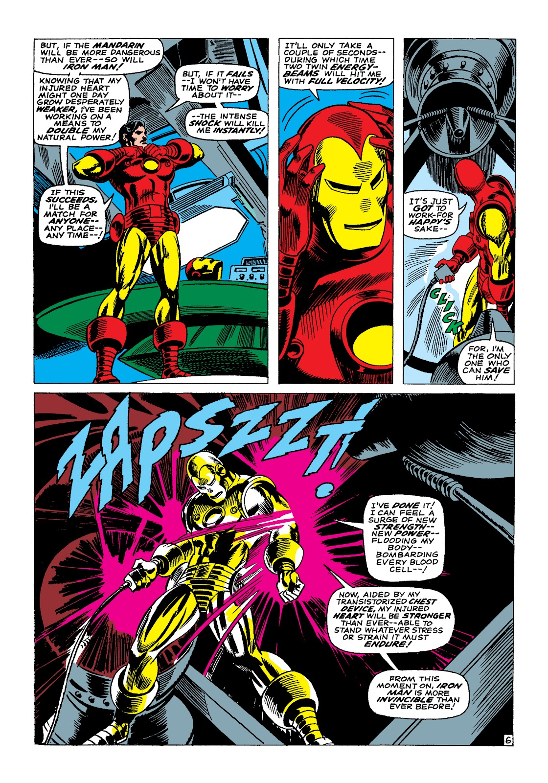 Read online Marvel Masterworks: The Invincible Iron Man comic -  Issue # TPB 4 (Part 1) - 25